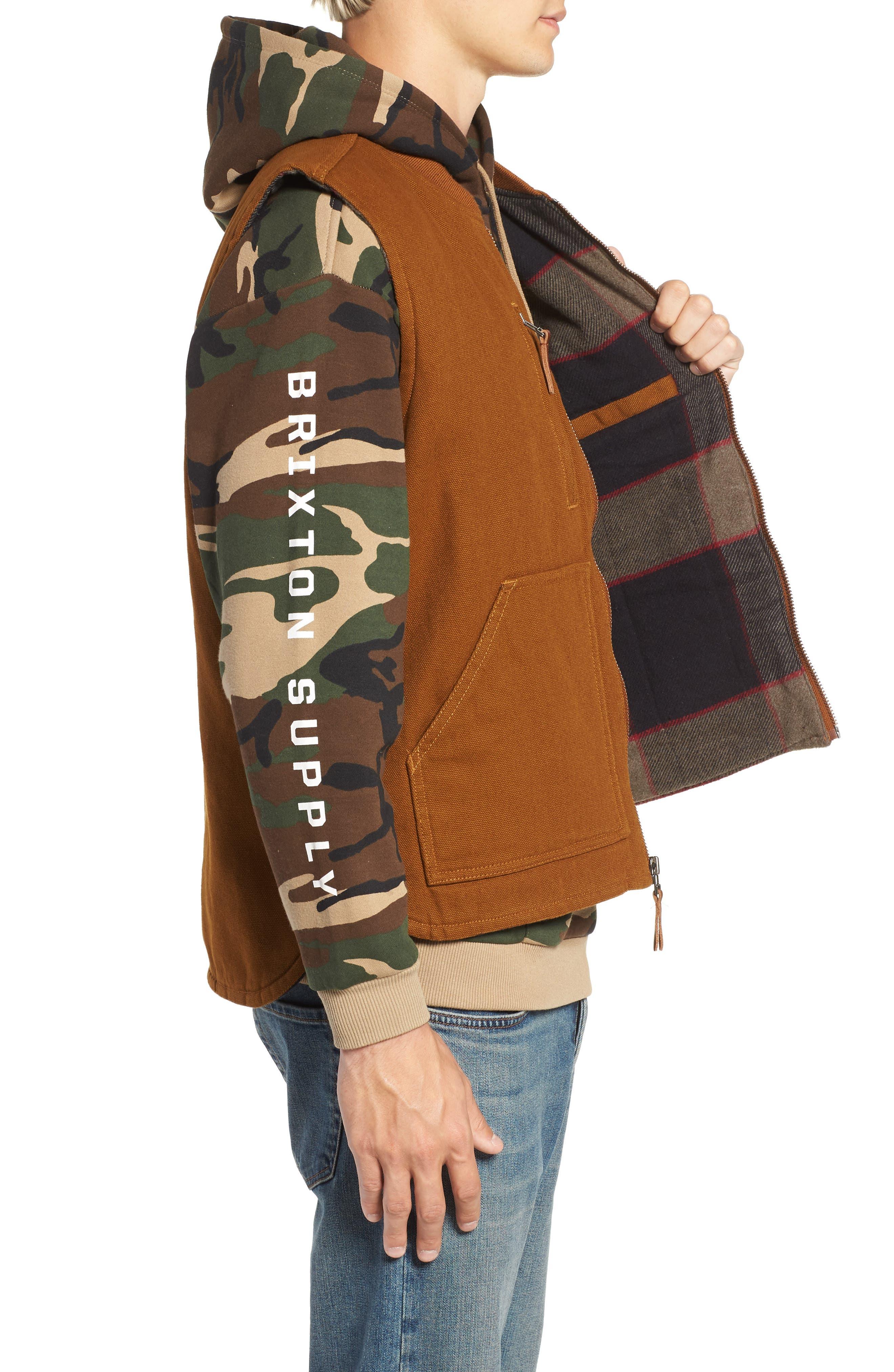Abraham Water Resistant Vest,                             Alternate thumbnail 3, color,                             COPPER