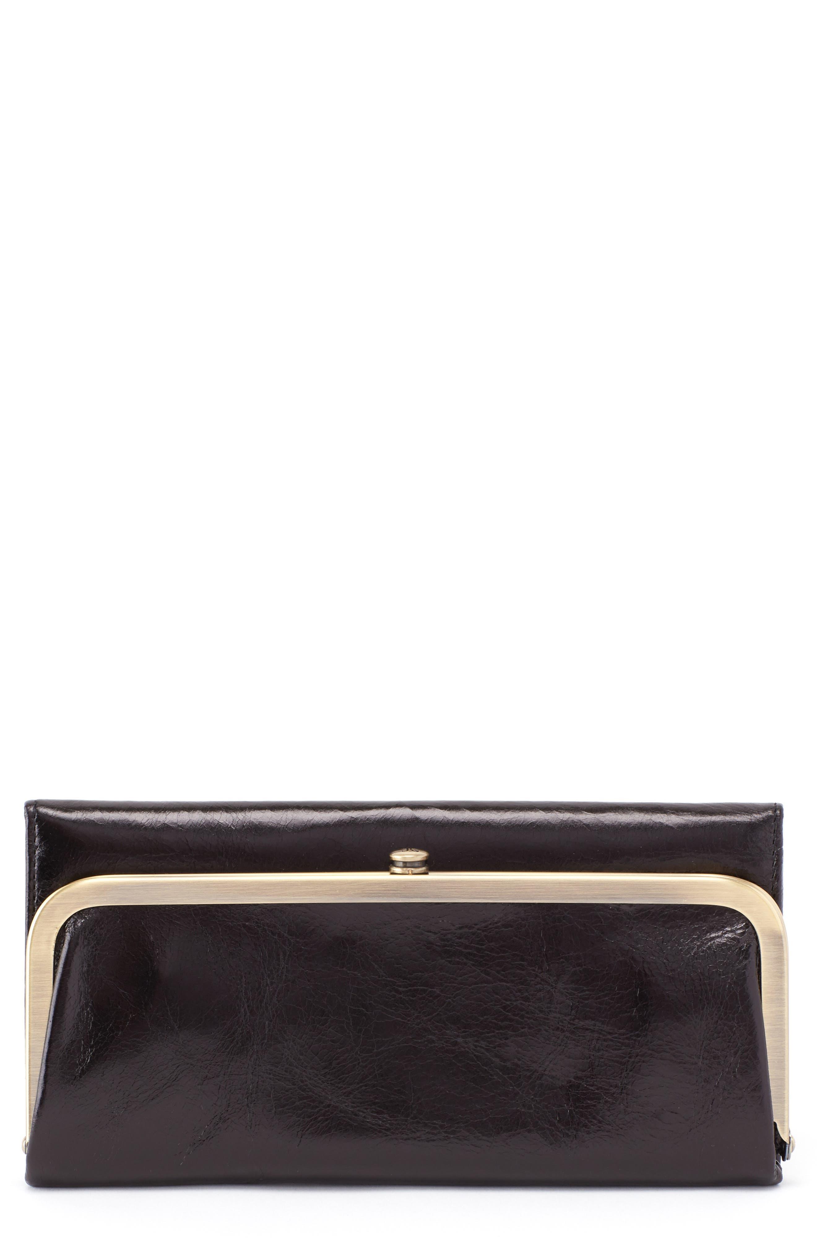Rachel Frame Wallet,                         Main,                         color, BLACK