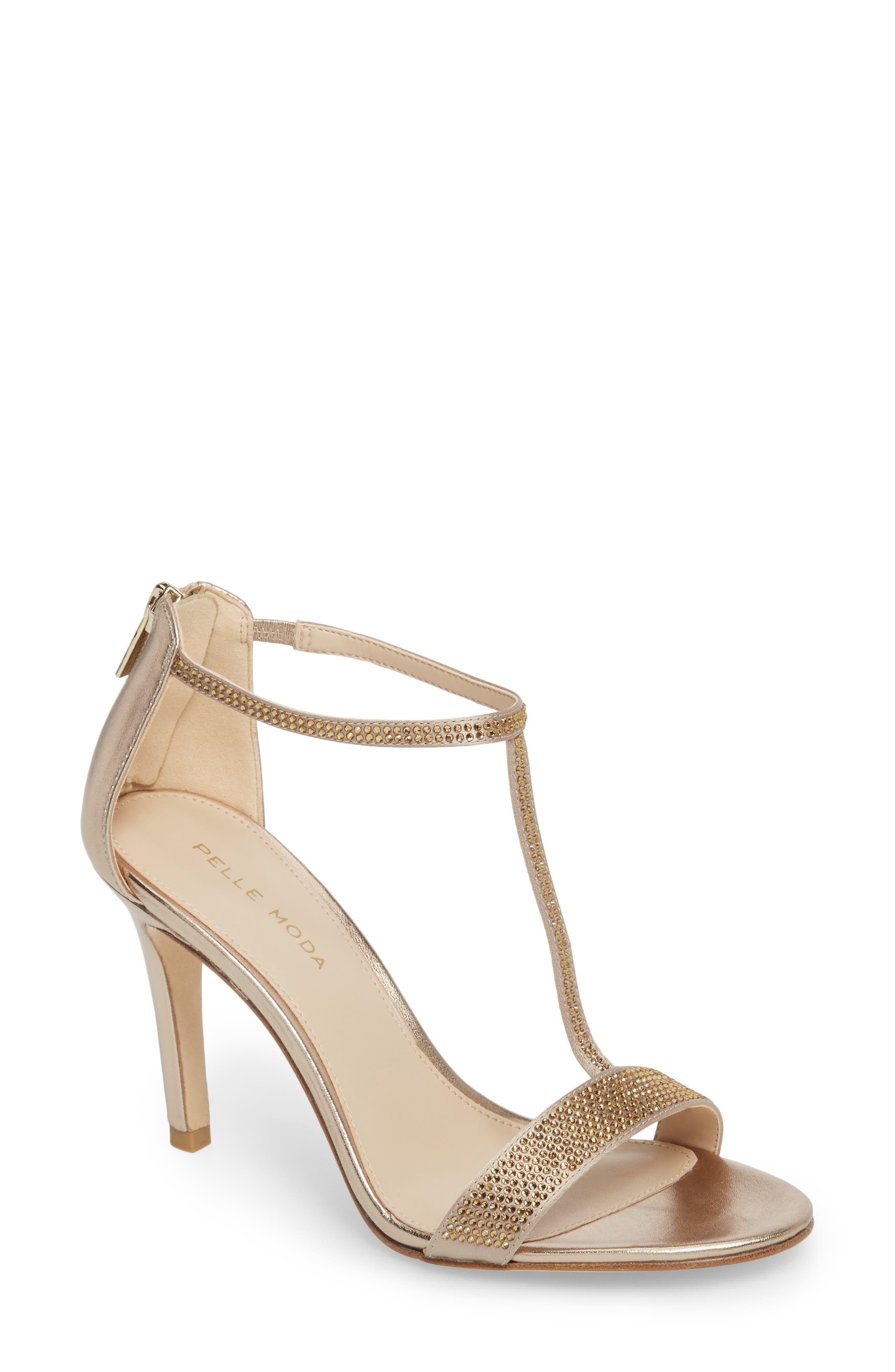 Patton2 Sandal,                         Main,                         color, PLATINUM GOLD