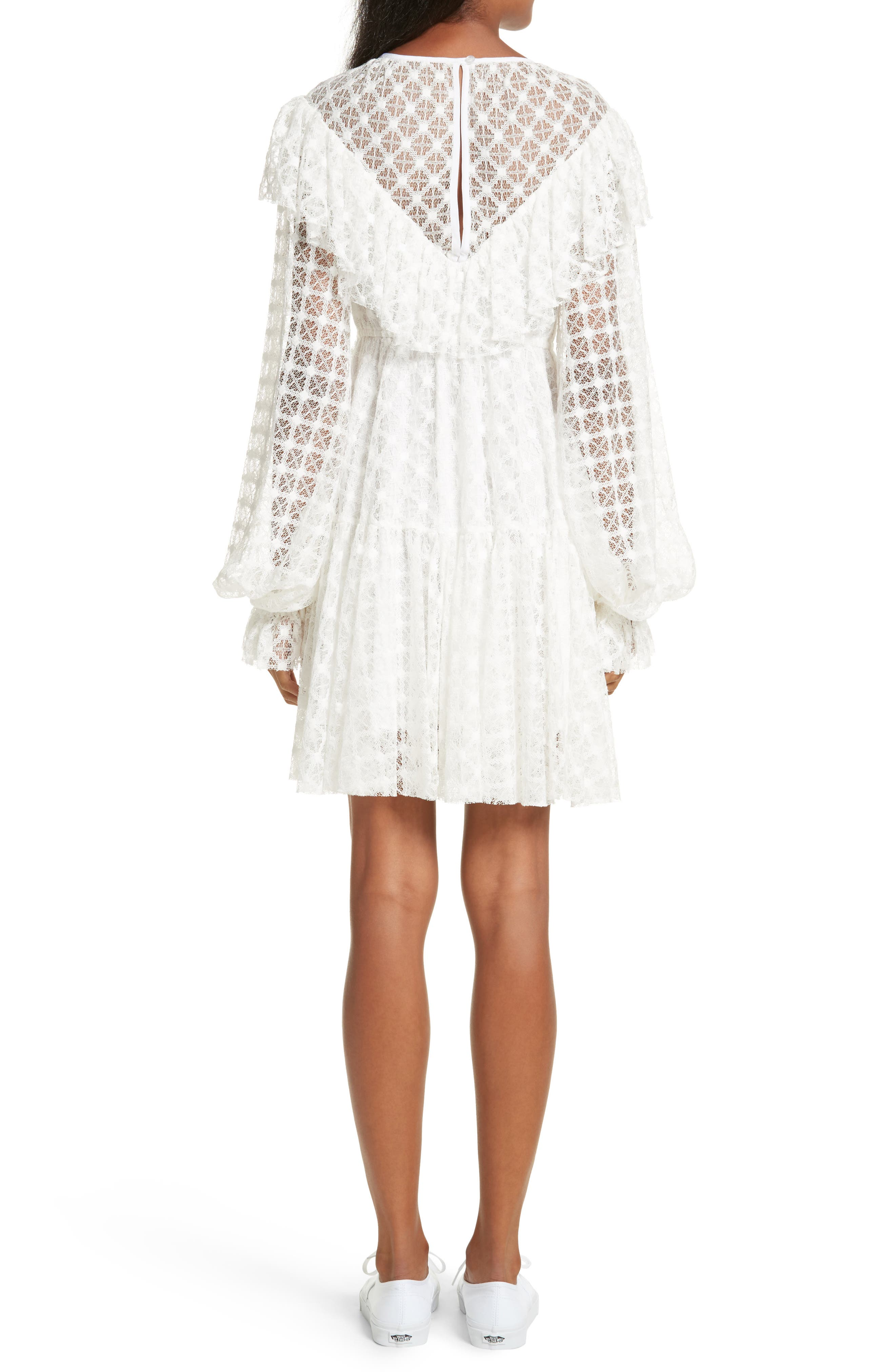 Lace Victorian Dress,                             Alternate thumbnail 2, color,                             900