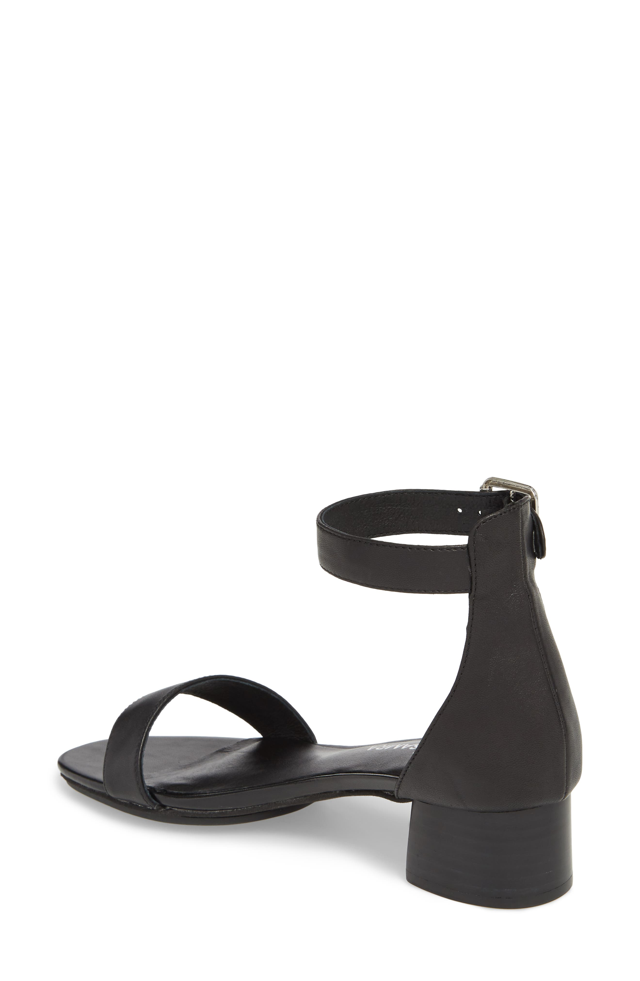 Daniel Sandal,                             Alternate thumbnail 2, color,                             BLACK
