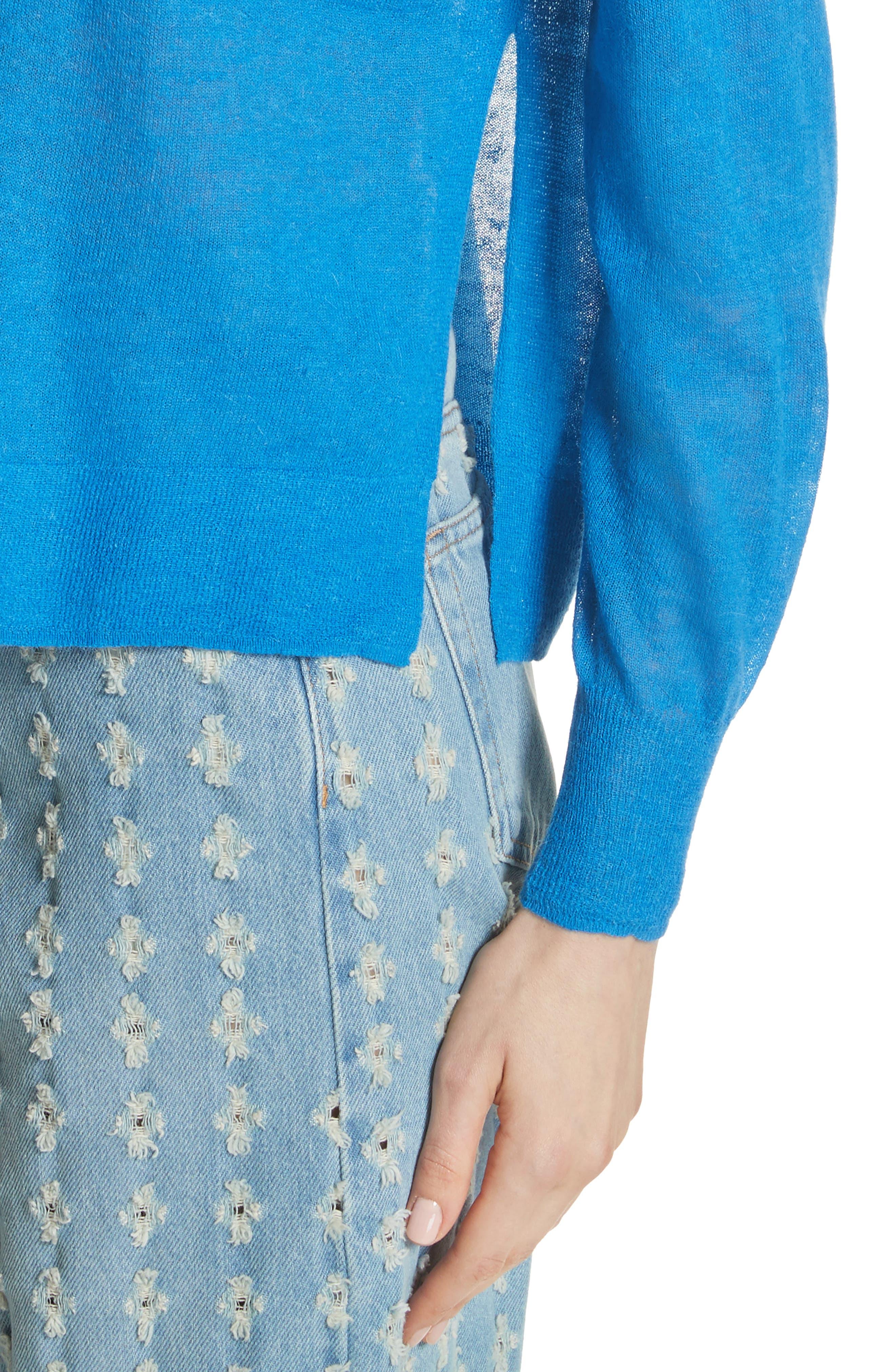 Isabel Marant Étoile Wool & Alpaca Blend Sweater,                             Alternate thumbnail 4, color,