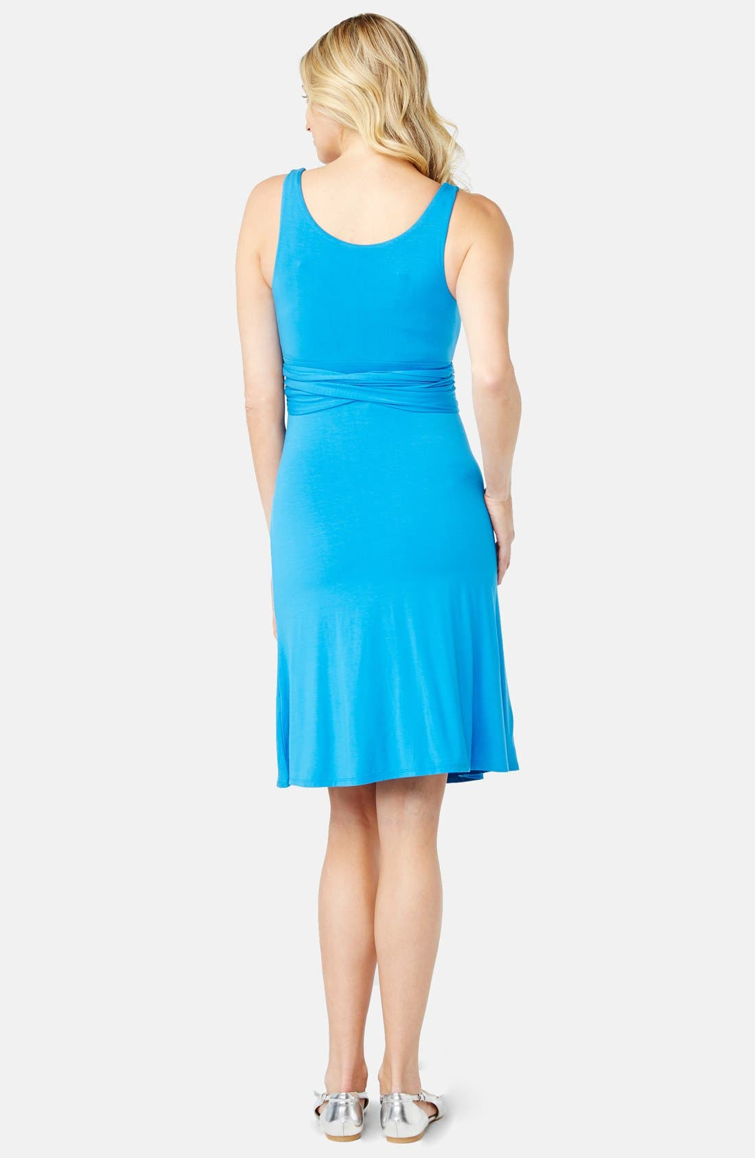 'Best' Maternity Dress,                             Alternate thumbnail 2, color,                             430
