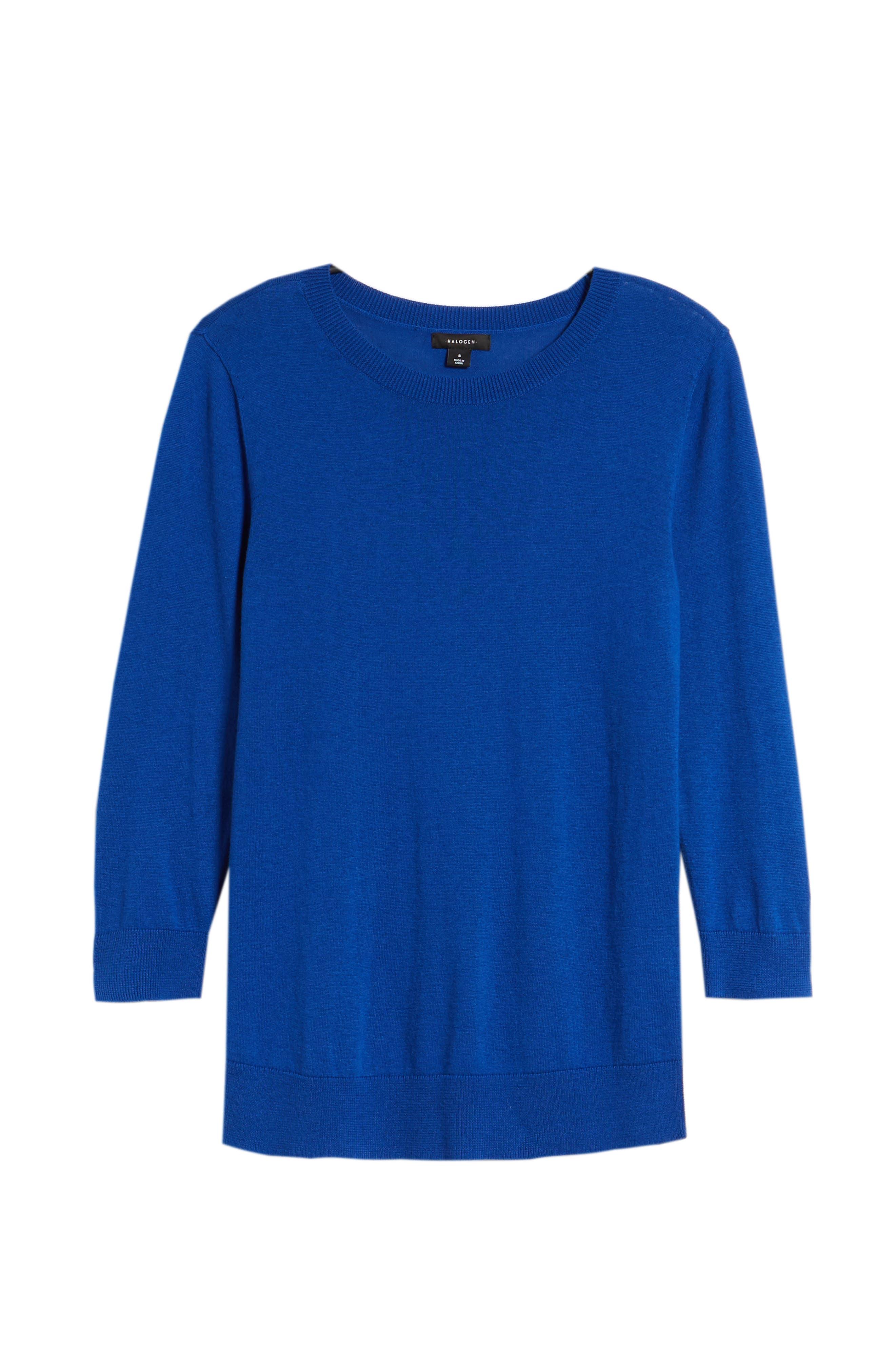Cotton Blend Pullover,                             Alternate thumbnail 153, color,