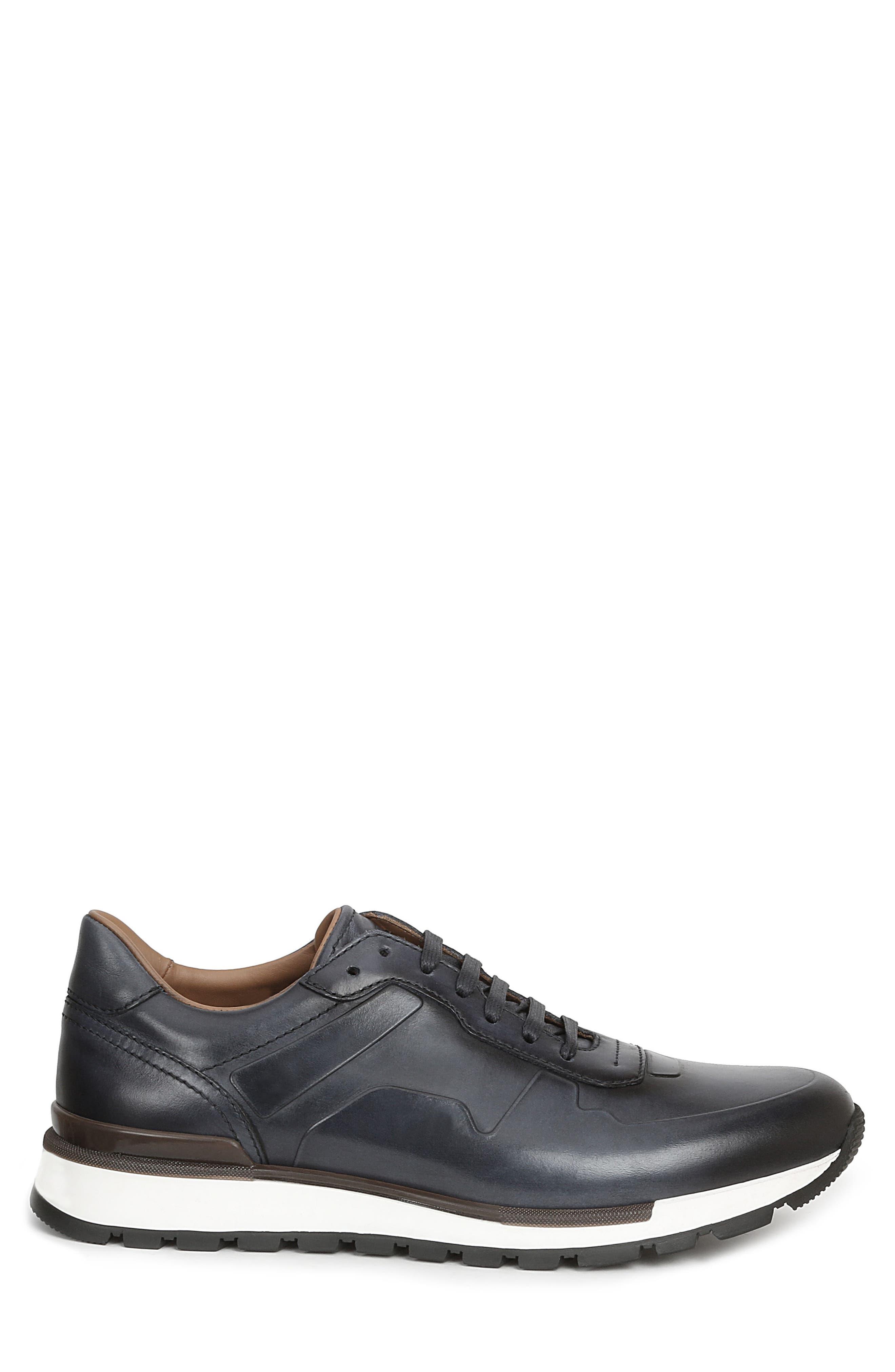 Davio Low Top Sneaker,                             Alternate thumbnail 3, color,                             NAVY