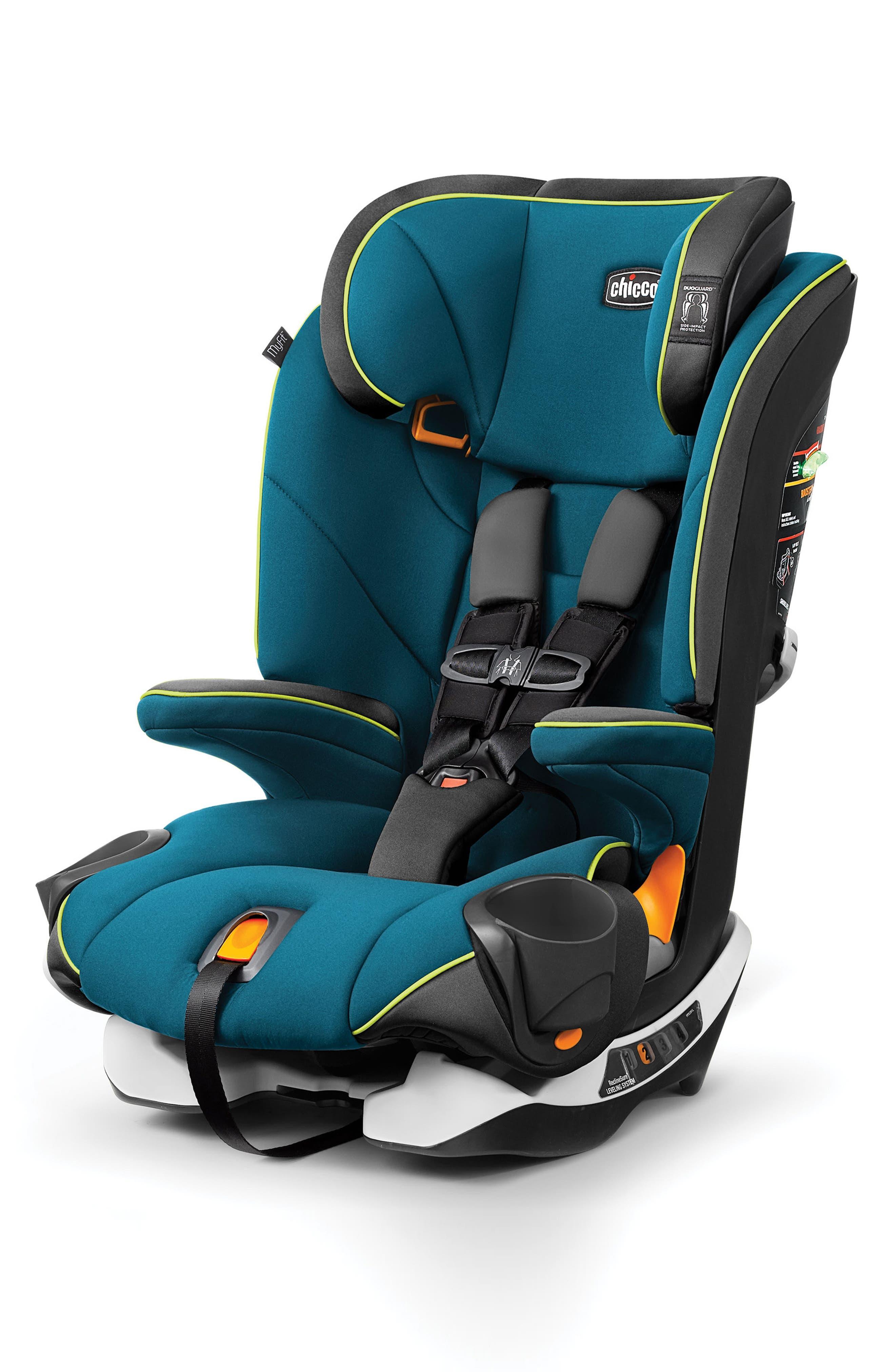 MyFit Convertible Harness + Booster Car Seat,                         Main,                         color, LANAI