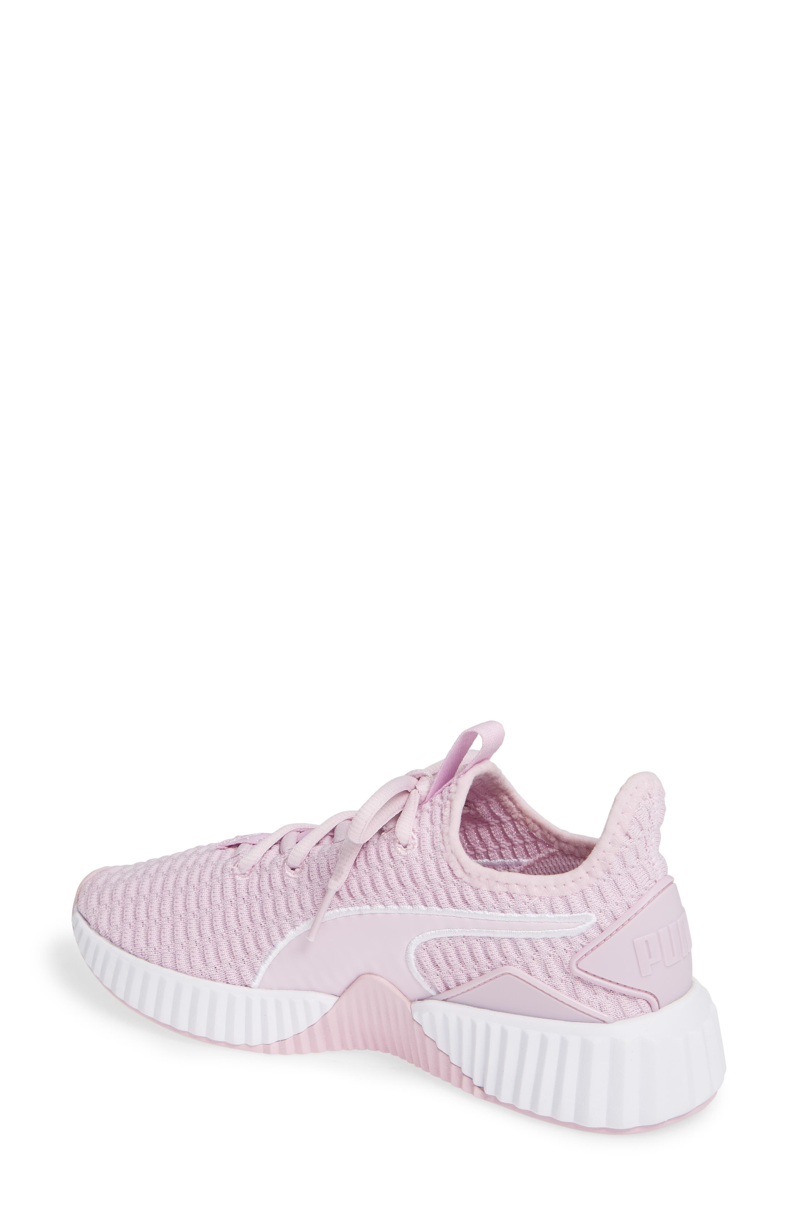Defy Sneaker,                             Alternate thumbnail 2, color,                             WINSOME ORCHID/ PUMA WHITE