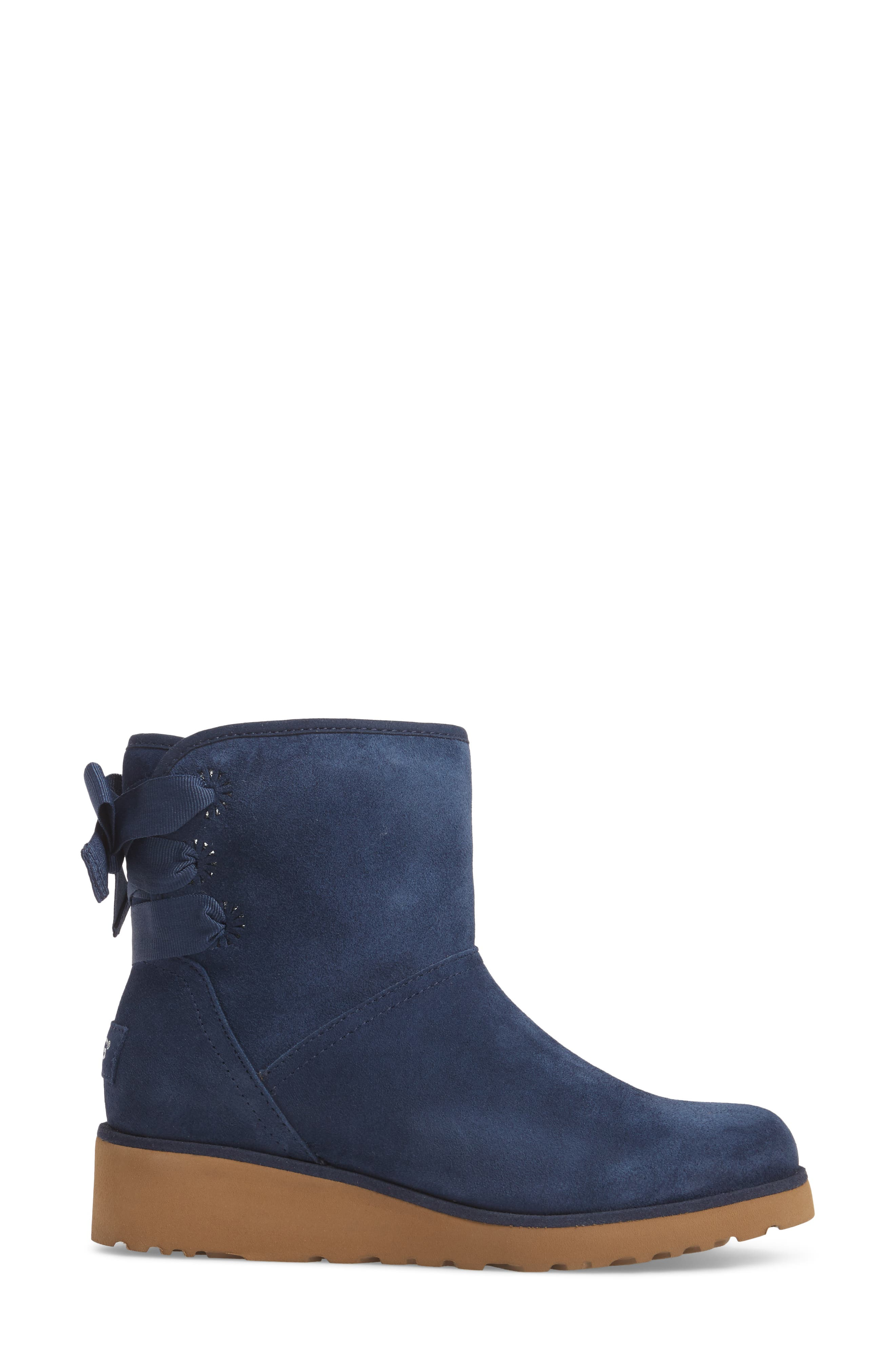 Drew Sunshine Perforated Tie Back Boot,                             Alternate thumbnail 9, color,