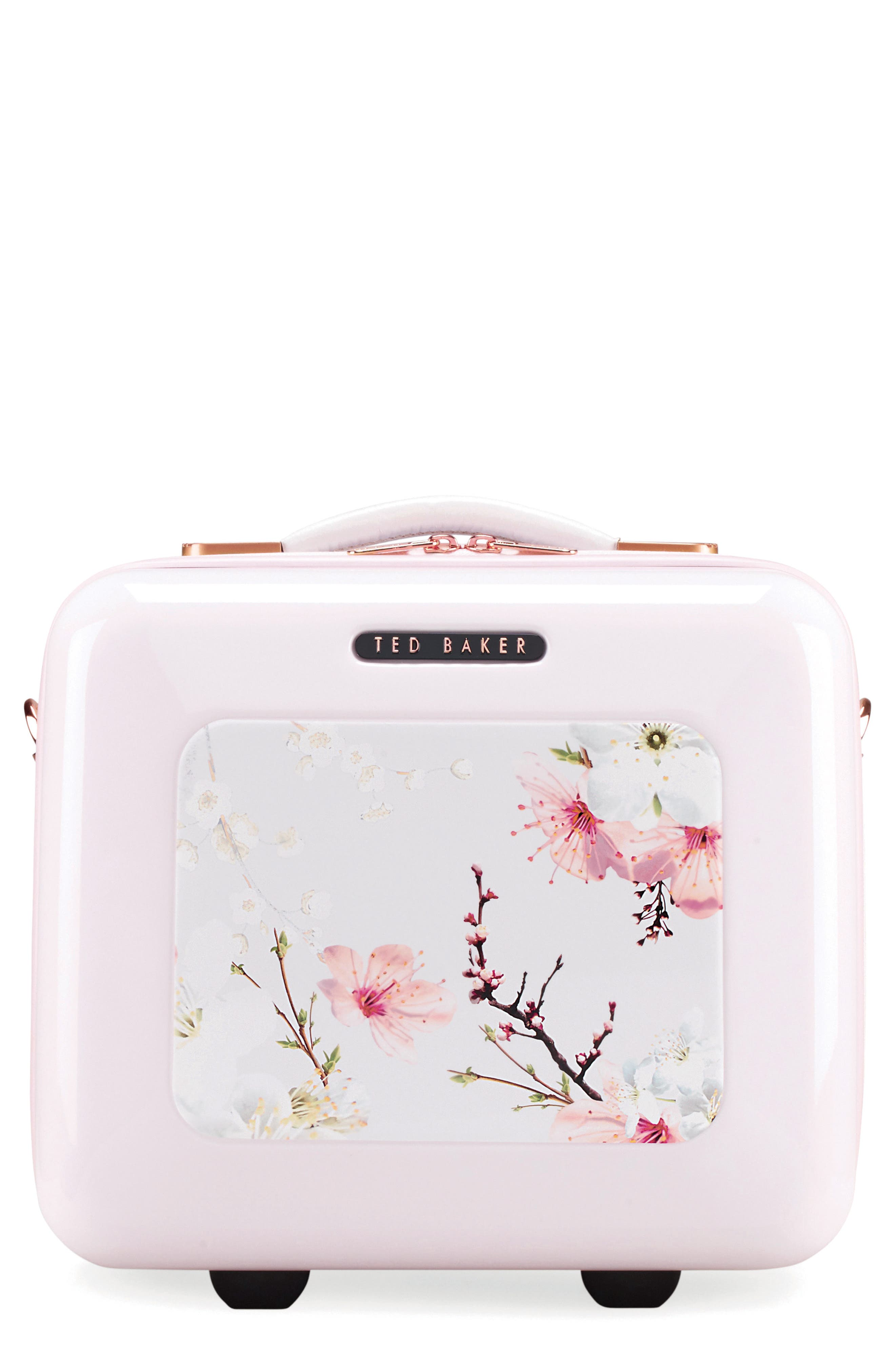 Blossoms Vanity Case,                             Main thumbnail 1, color,                             650