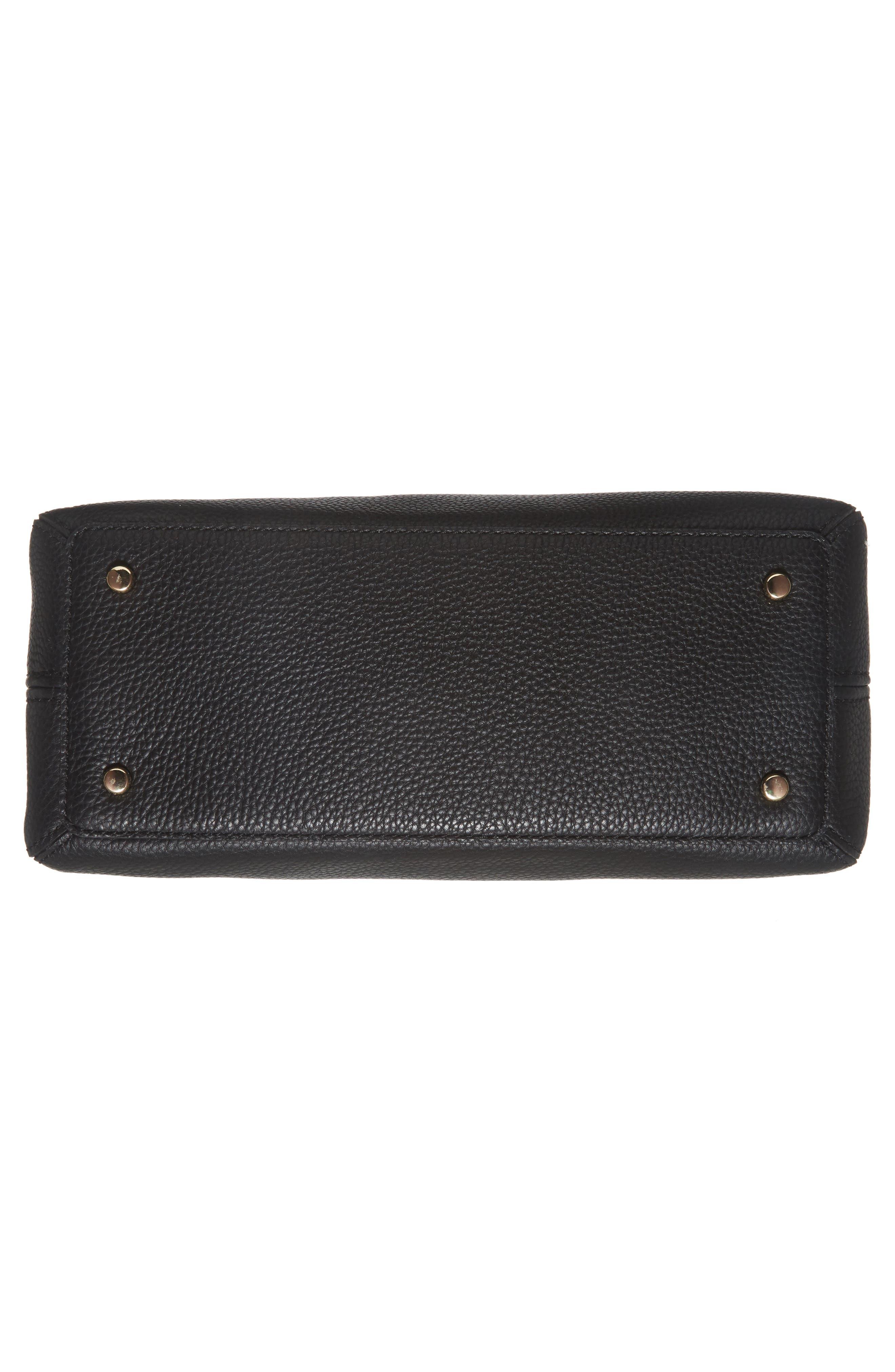 jackson street lottie leather satchel,                             Alternate thumbnail 17, color,