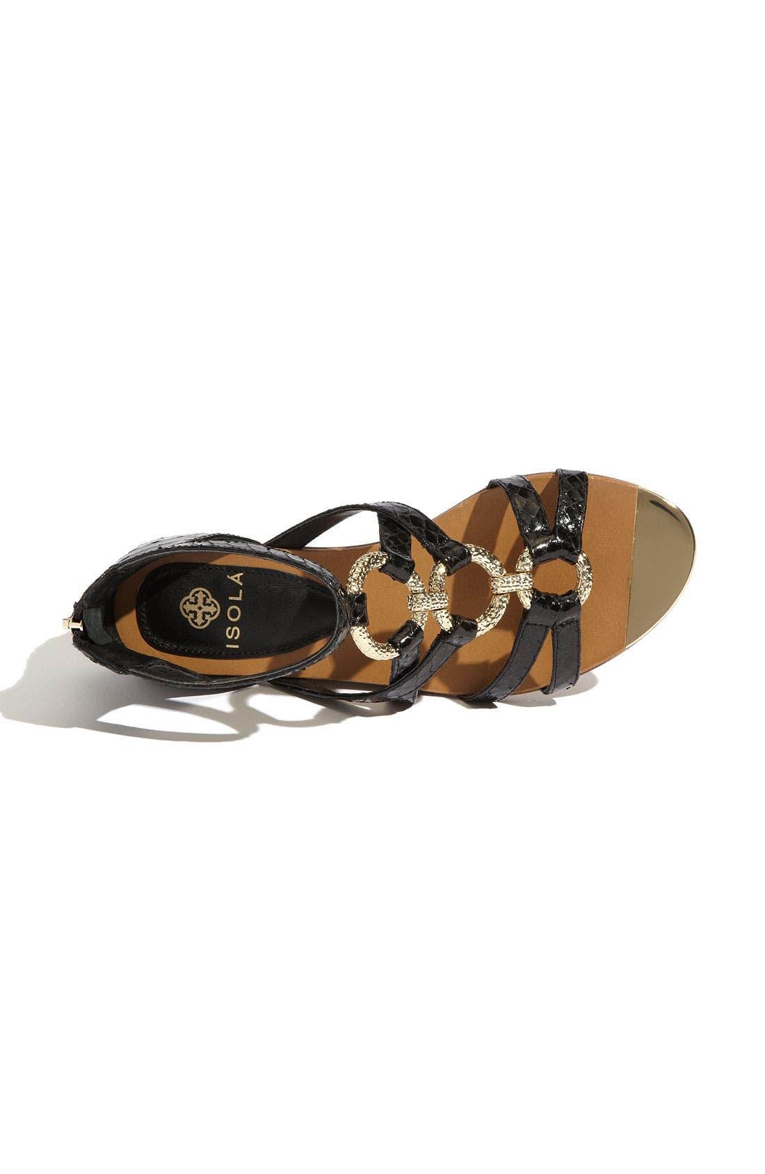 'Adriel' Flat Sandal,                             Alternate thumbnail 2, color,                             001