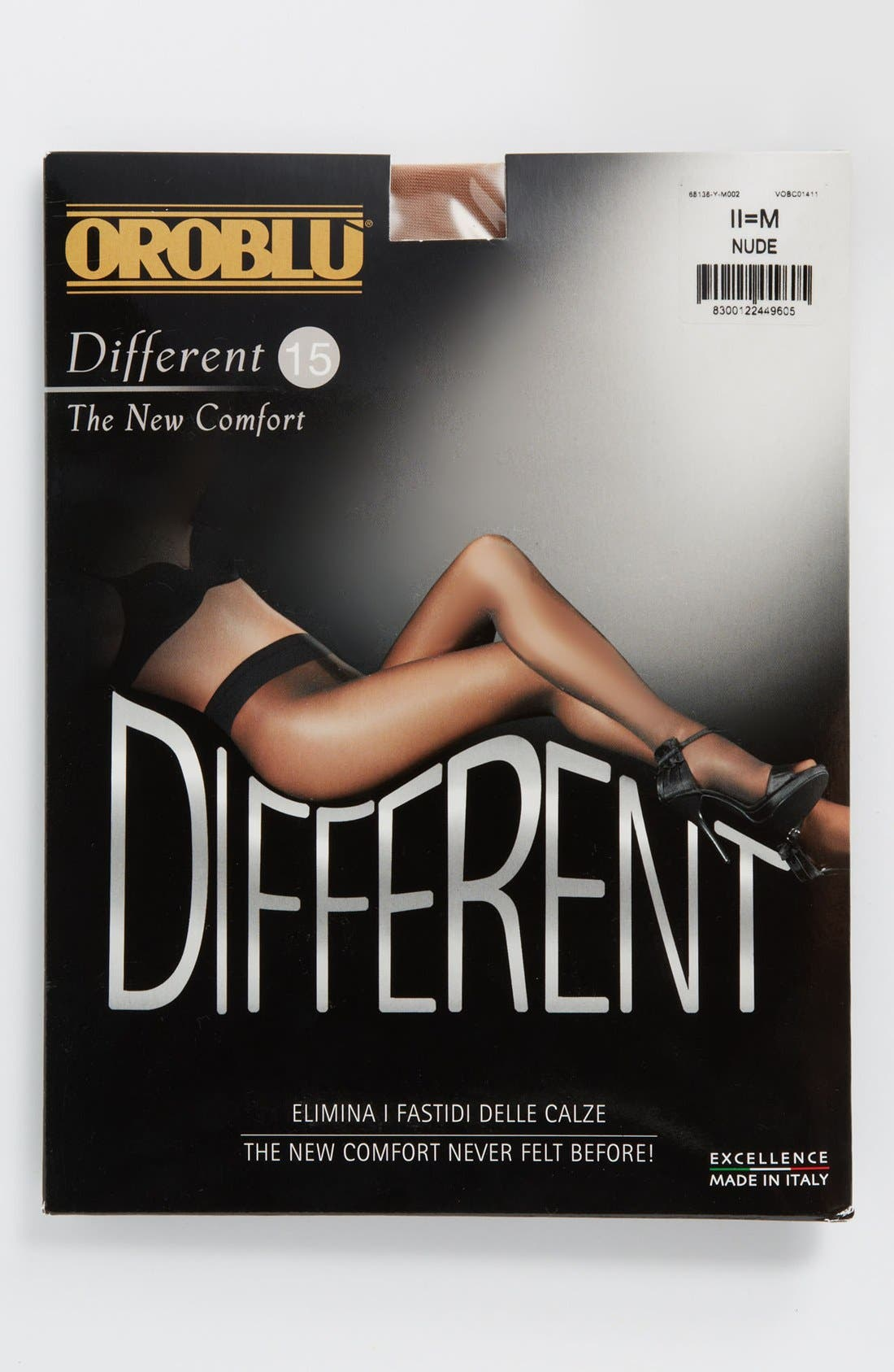 Different Comfort Pantyhose,                             Alternate thumbnail 3, color,                             NUDE