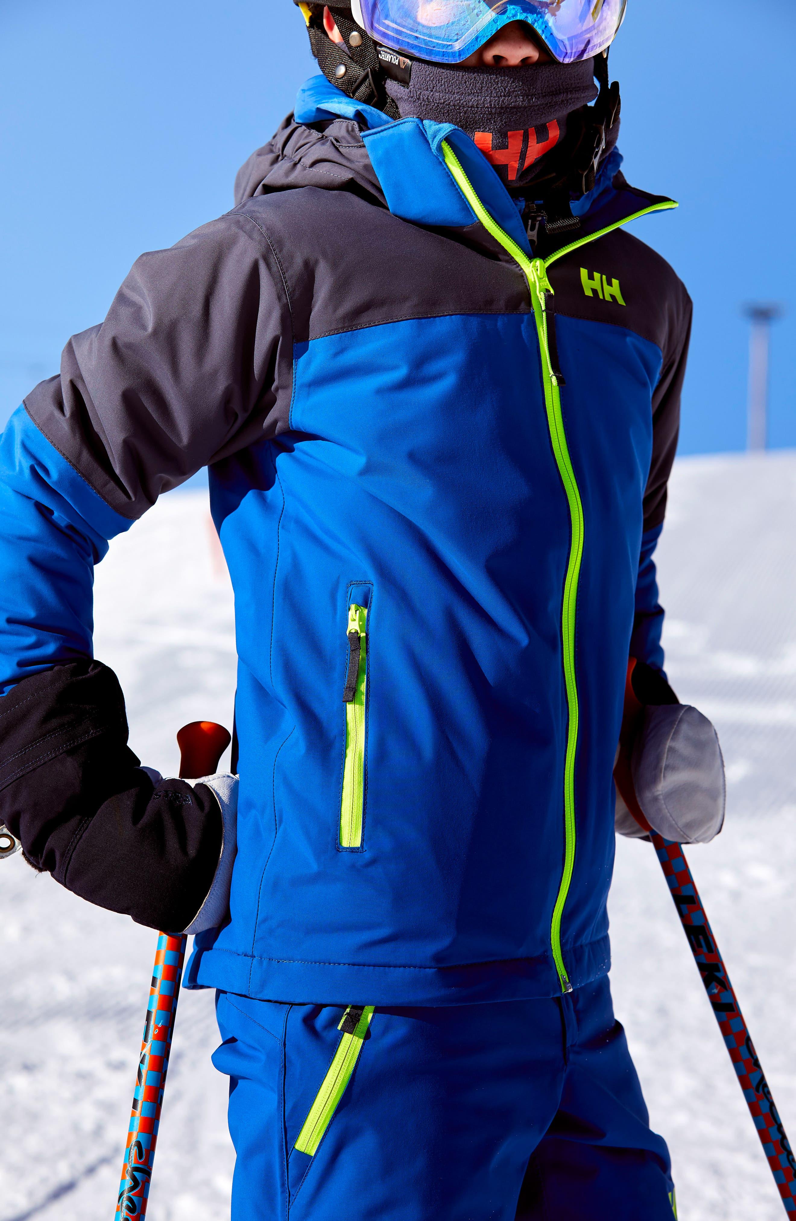 'Progress' Waterproof Hooded Jacket,                             Alternate thumbnail 3, color,                             403