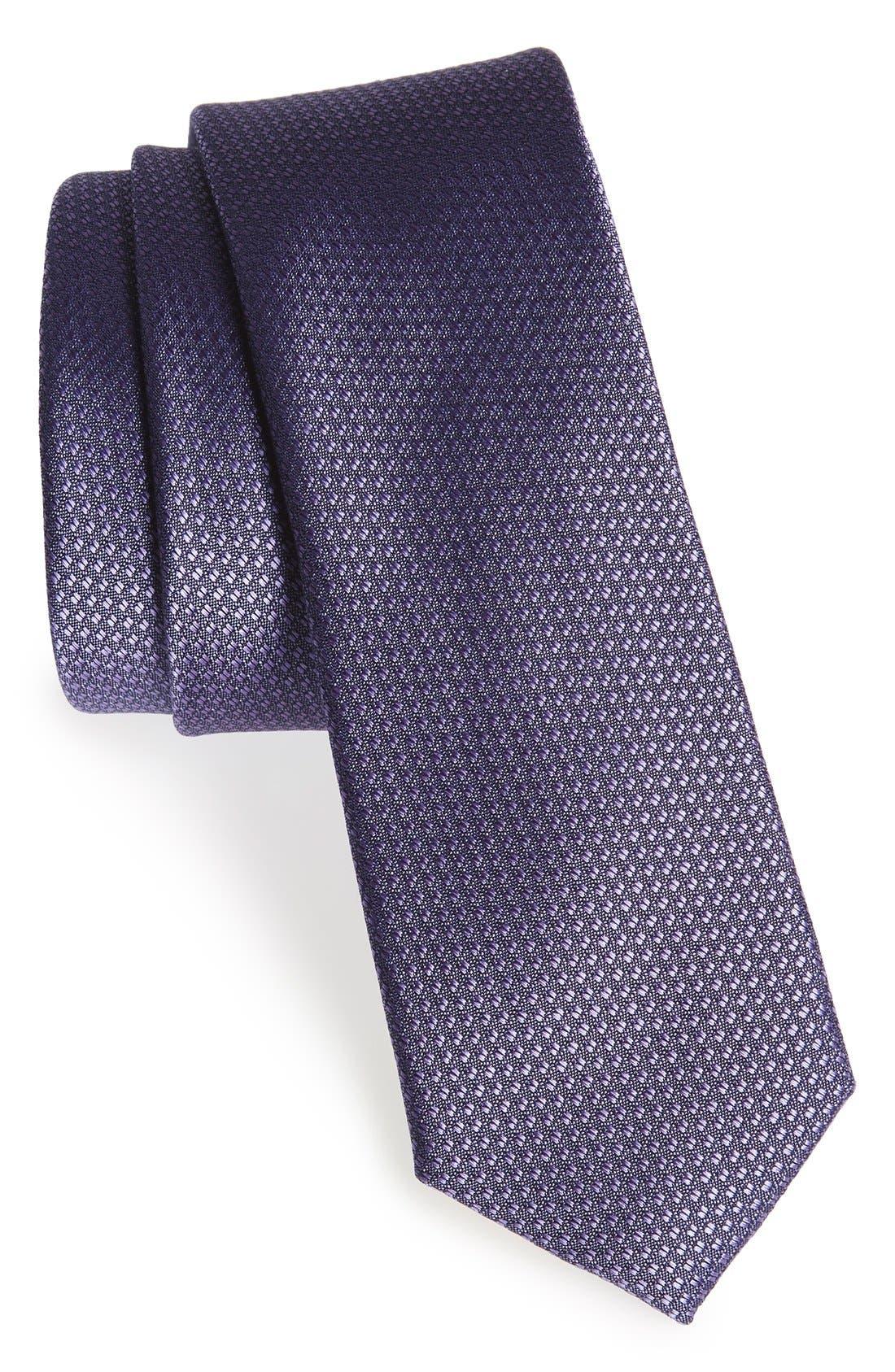 Seattle Textured Silk Tie,                             Main thumbnail 31, color,