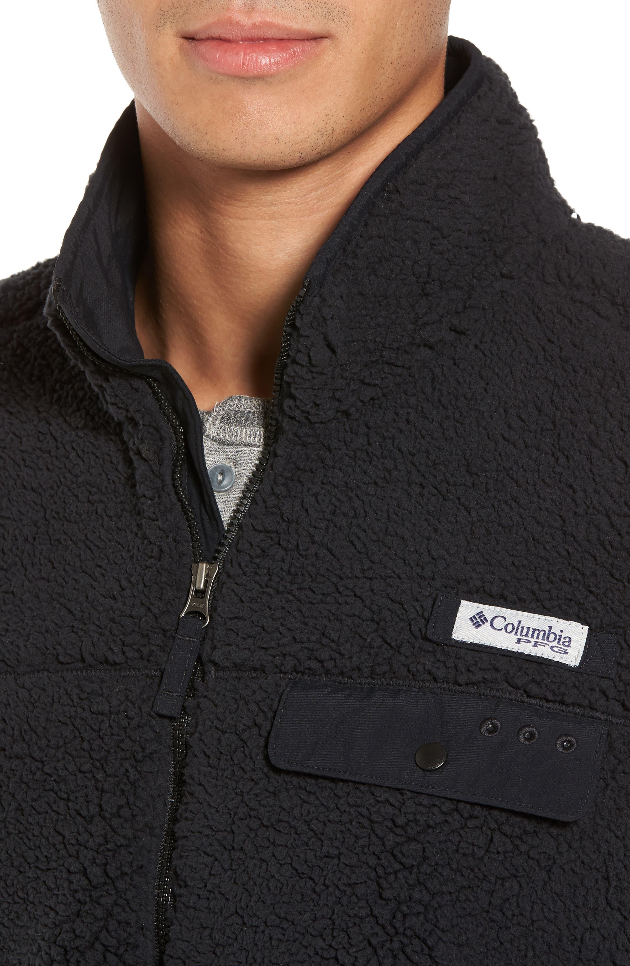 Sportswear Harborside Heavyweight Fleece Vest,                             Alternate thumbnail 4, color,                             010