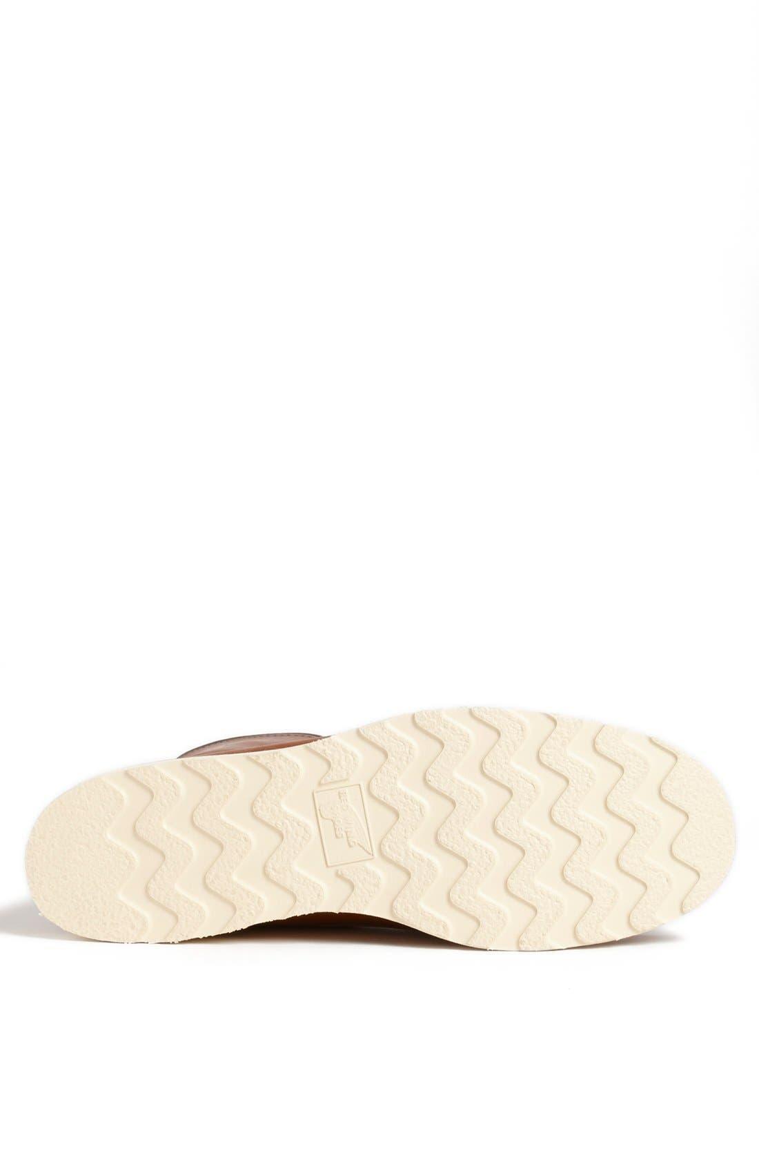 '877' Moc Toe Boot,                             Alternate thumbnail 5, color,                             COPPER LEATHER