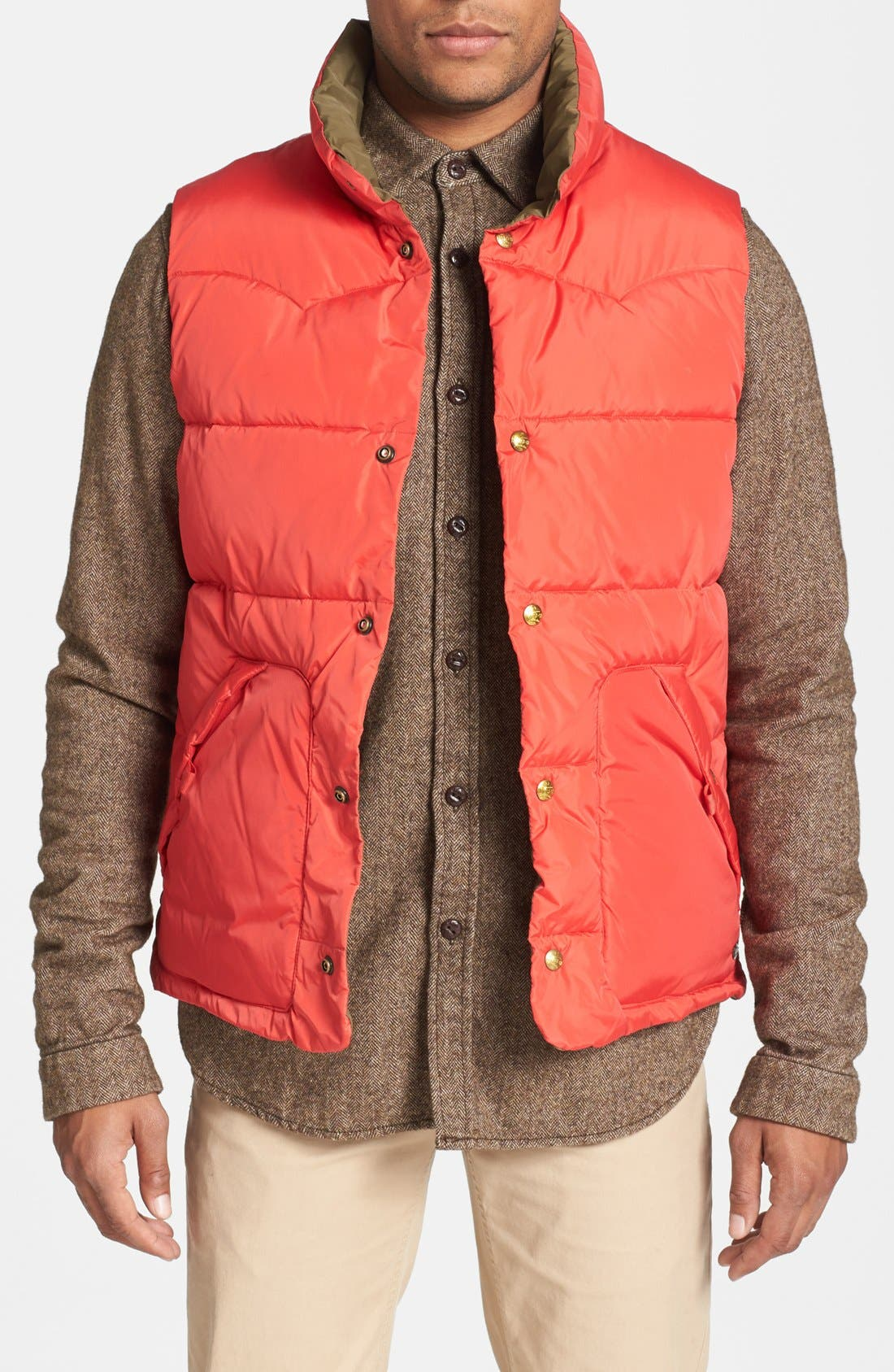 Reversible Quilted Vest,                             Main thumbnail 3, color,