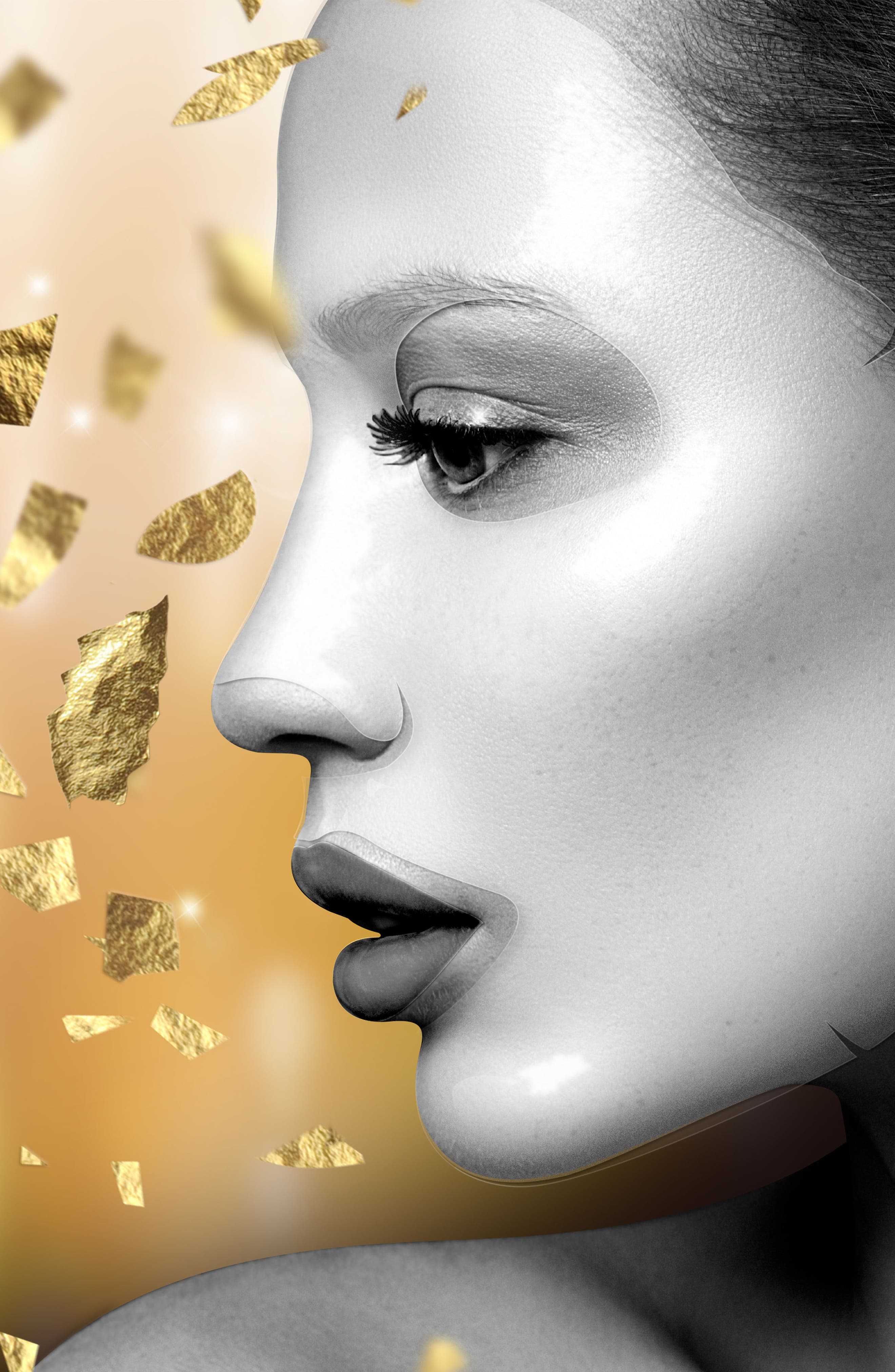 The Gold Mask VIP Revitalizing Luxury Bio-Cellulose Second Skin Face Mask,                             Alternate thumbnail 2, color,                             NO COLOR