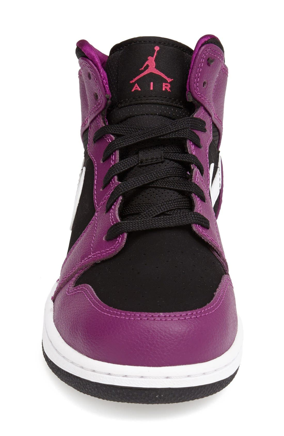 Nike 'Air Jordan 1 Mid' Sneaker,                             Alternate thumbnail 15, color,