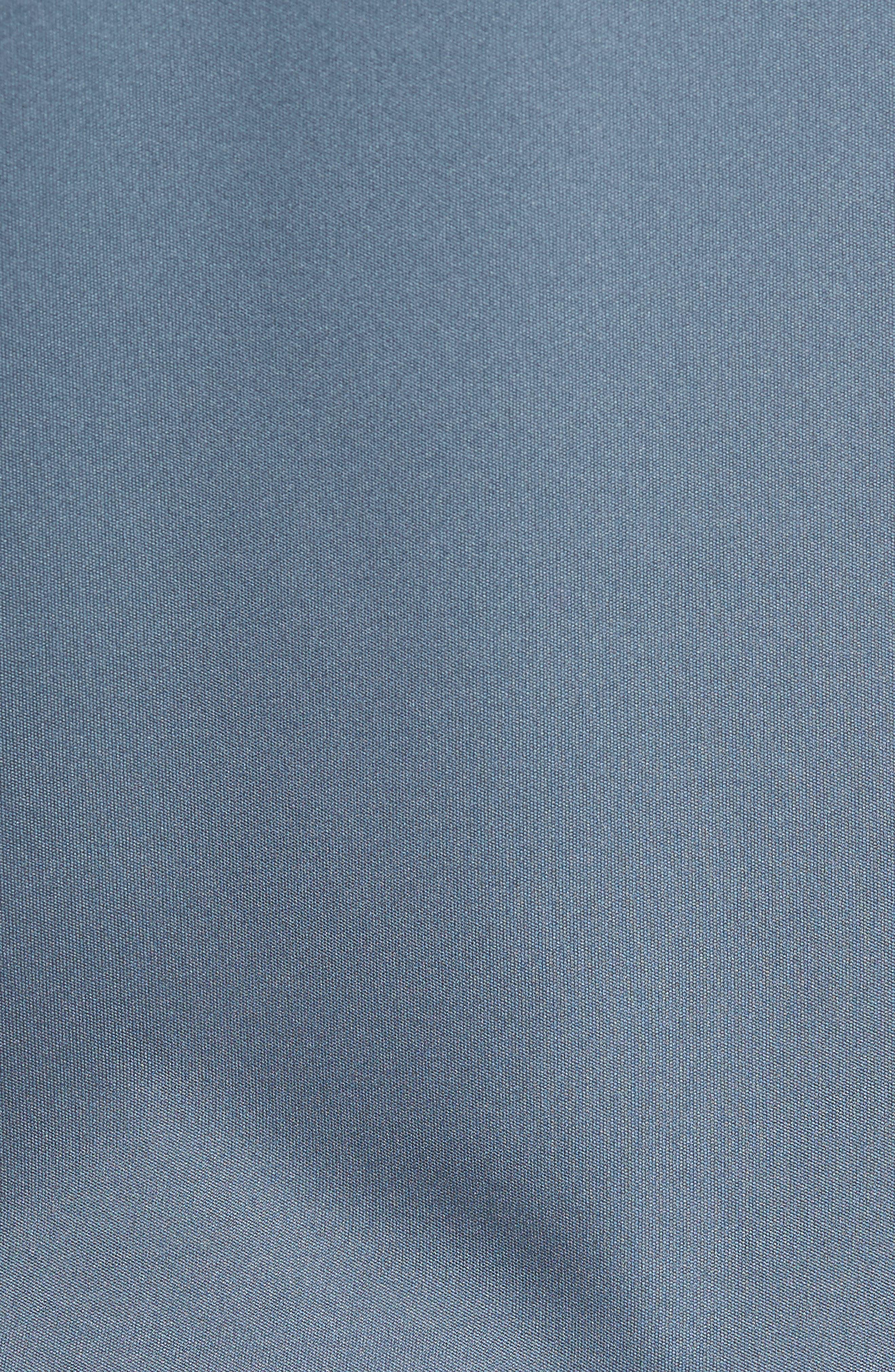 Divisional Polo Shirt,                             Alternate thumbnail 5, color,                             DARK SLATE