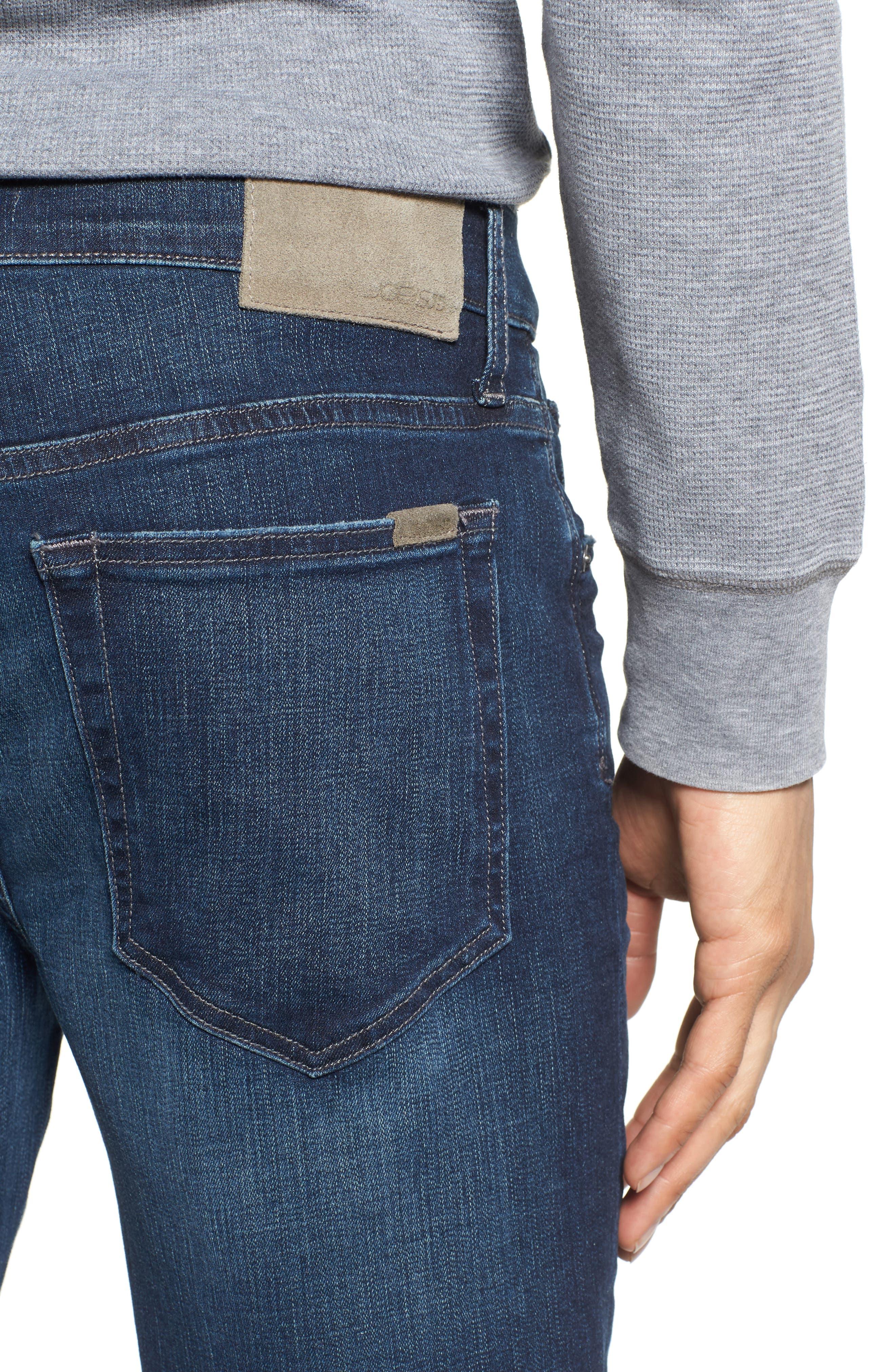 Kinetic Slim Fit Jeans,                             Alternate thumbnail 4, color,