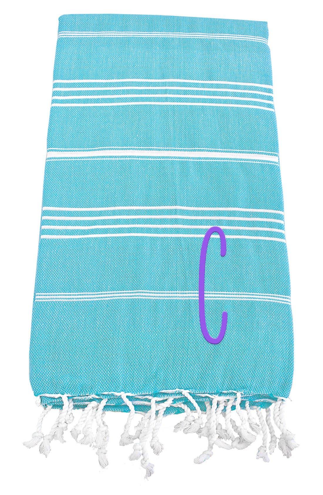 Monogram Turkish Cotton Towel,                             Main thumbnail 86, color,