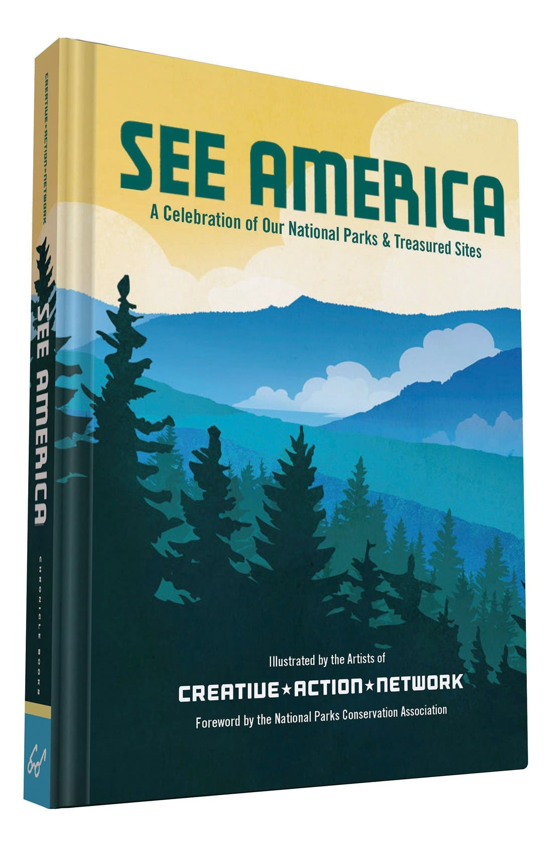 'See America - A Celebration of Our National Parks & Treasured Sites' Book,                             Alternate thumbnail 7, color,