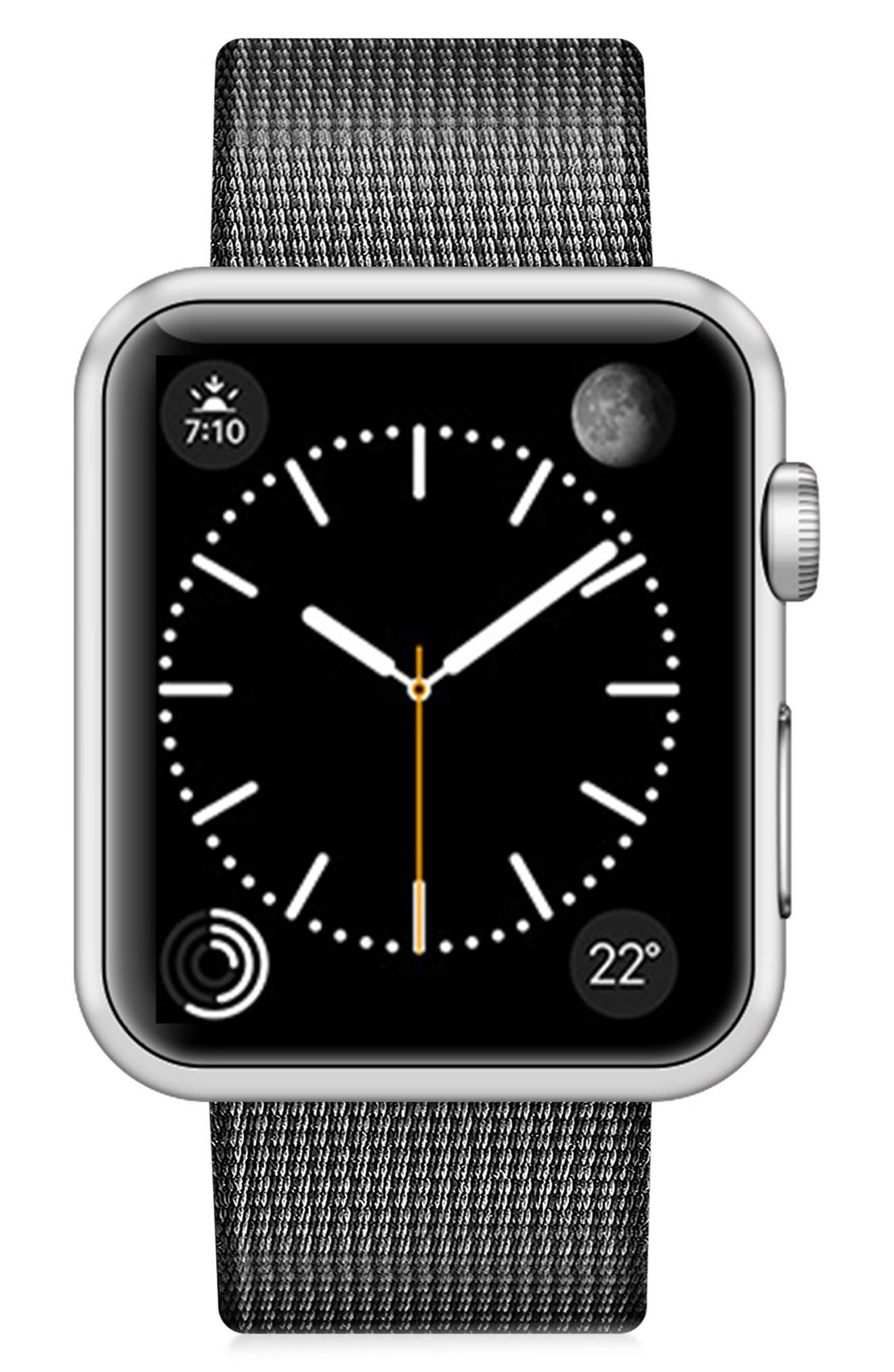CASETIFY,                             Nylon Apple Watch Strap,                             Main thumbnail 1, color,                             020