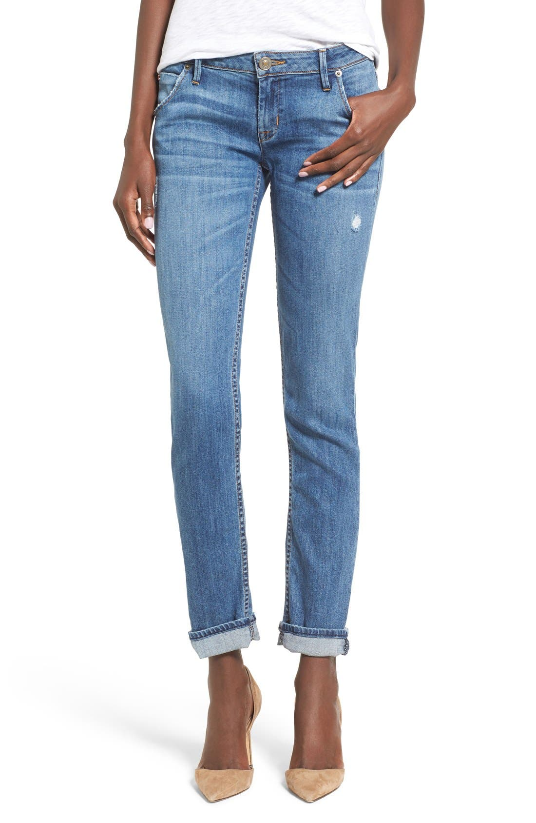 'Jax' Slim Boyfriend Jeans,                             Main thumbnail 1, color,                             425