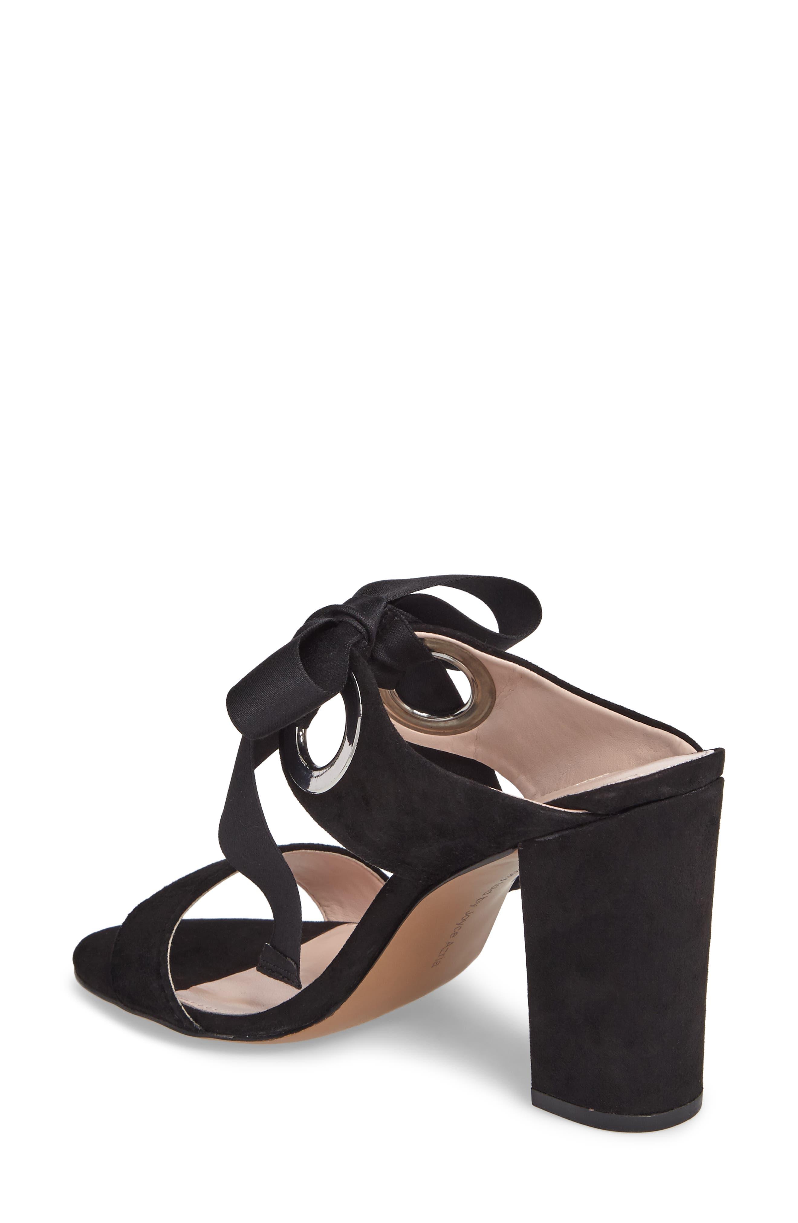 Megan Tie Strap Sandal,                             Alternate thumbnail 3, color,