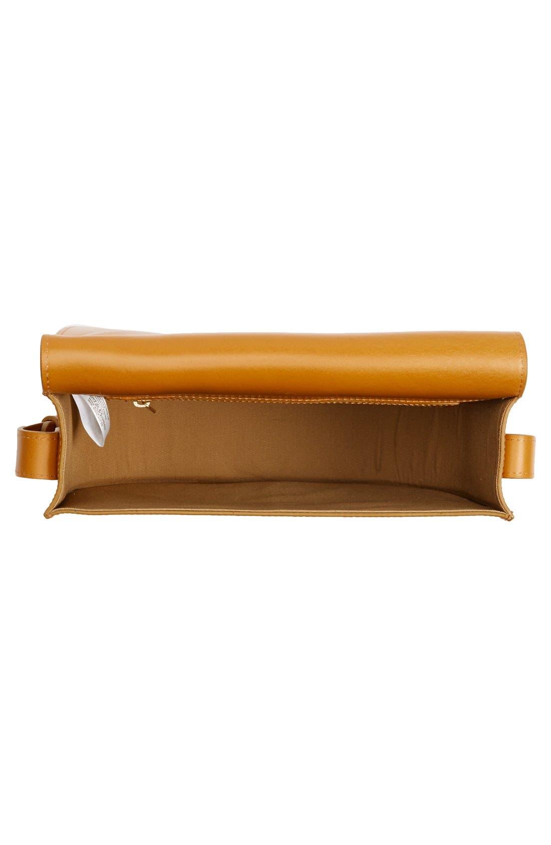 'Sac June' Leather Shoulder Bag,                             Alternate thumbnail 4, color,                             700