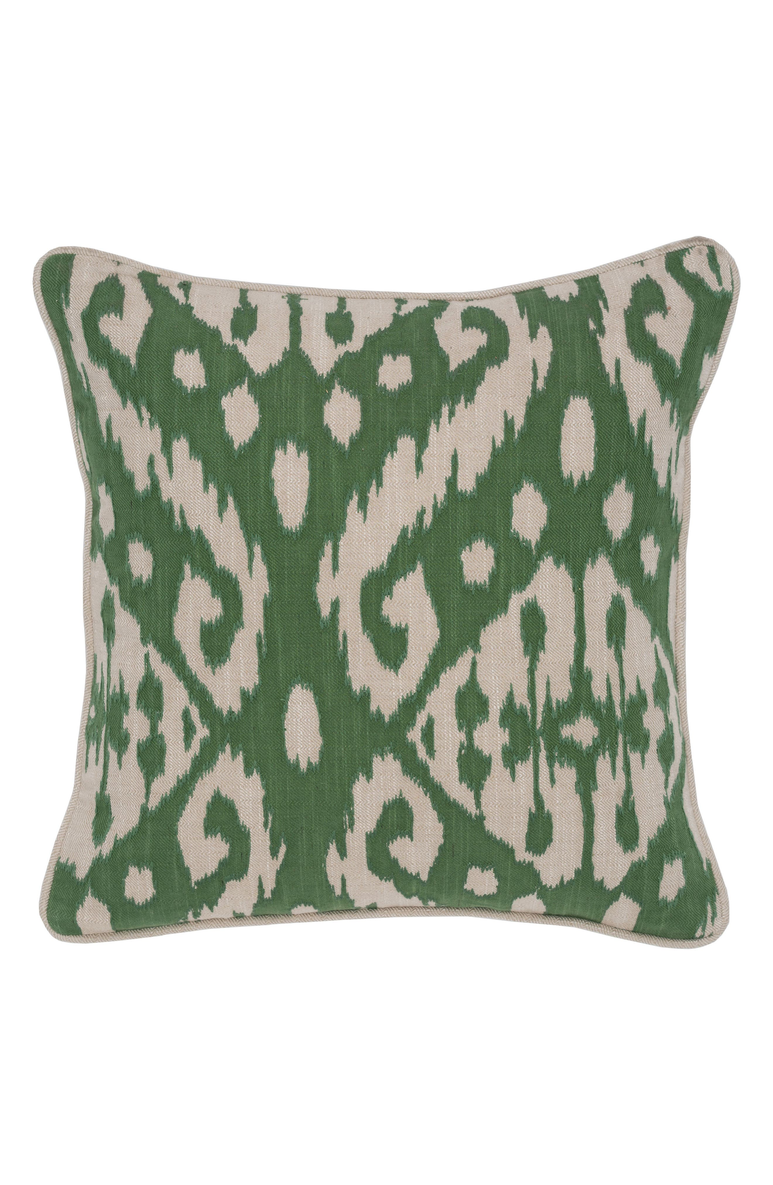 Albion Accent Pillow,                             Main thumbnail 1, color,                             GREEN