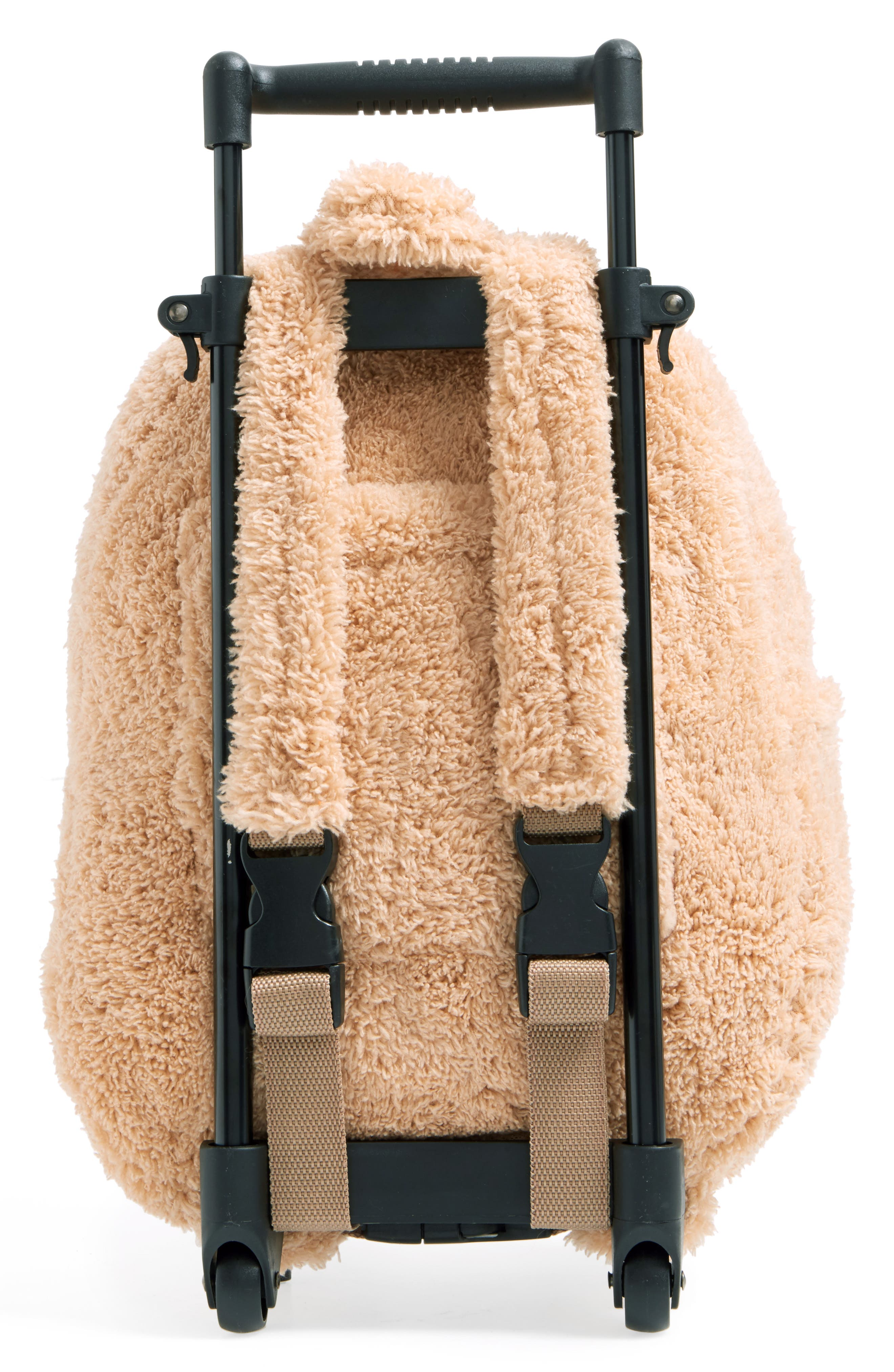 Trolley Rolling Backpack Set,                             Alternate thumbnail 3, color,                             MONKEY