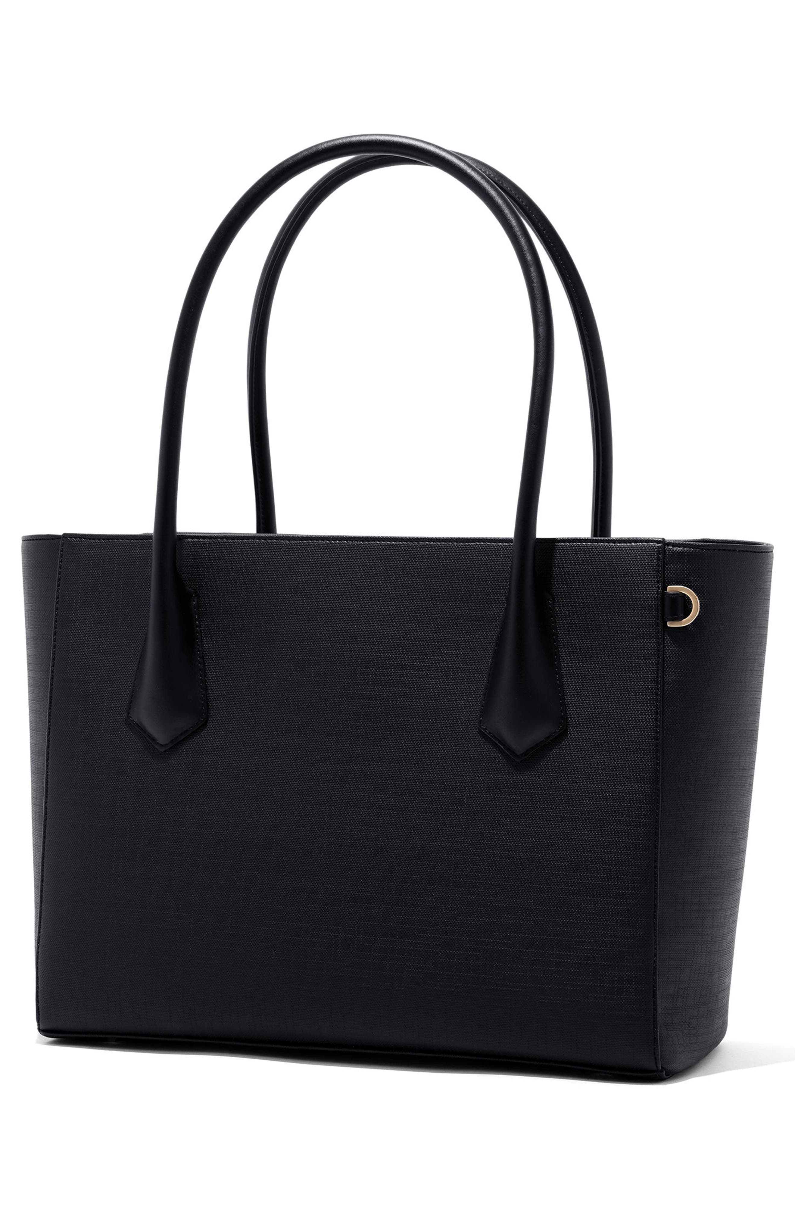Signature Legend Coated Canvas Tote,                             Alternate thumbnail 2, color,                             001