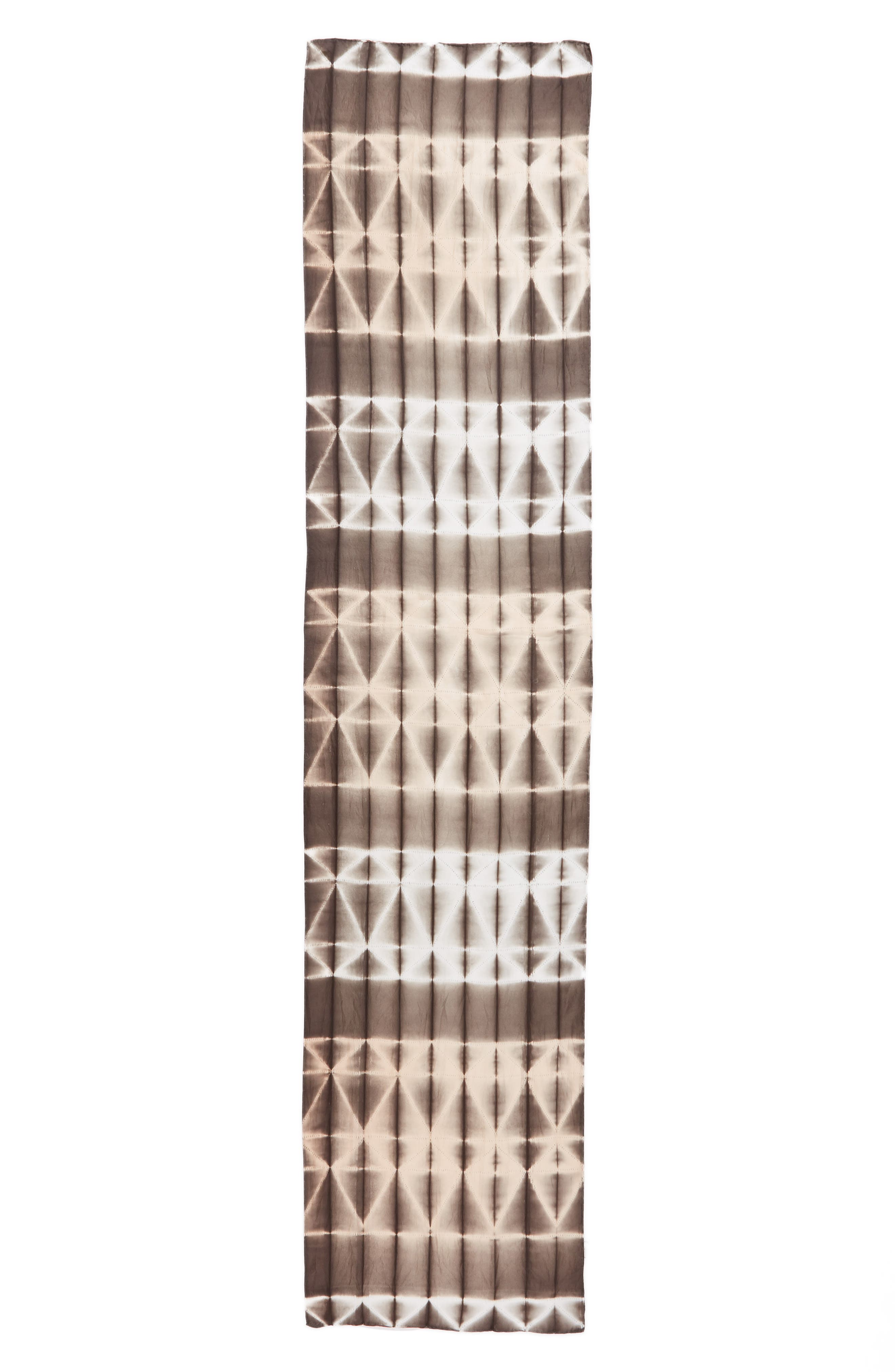 Tie Dye Silk Scarf,                             Alternate thumbnail 3, color,                             024