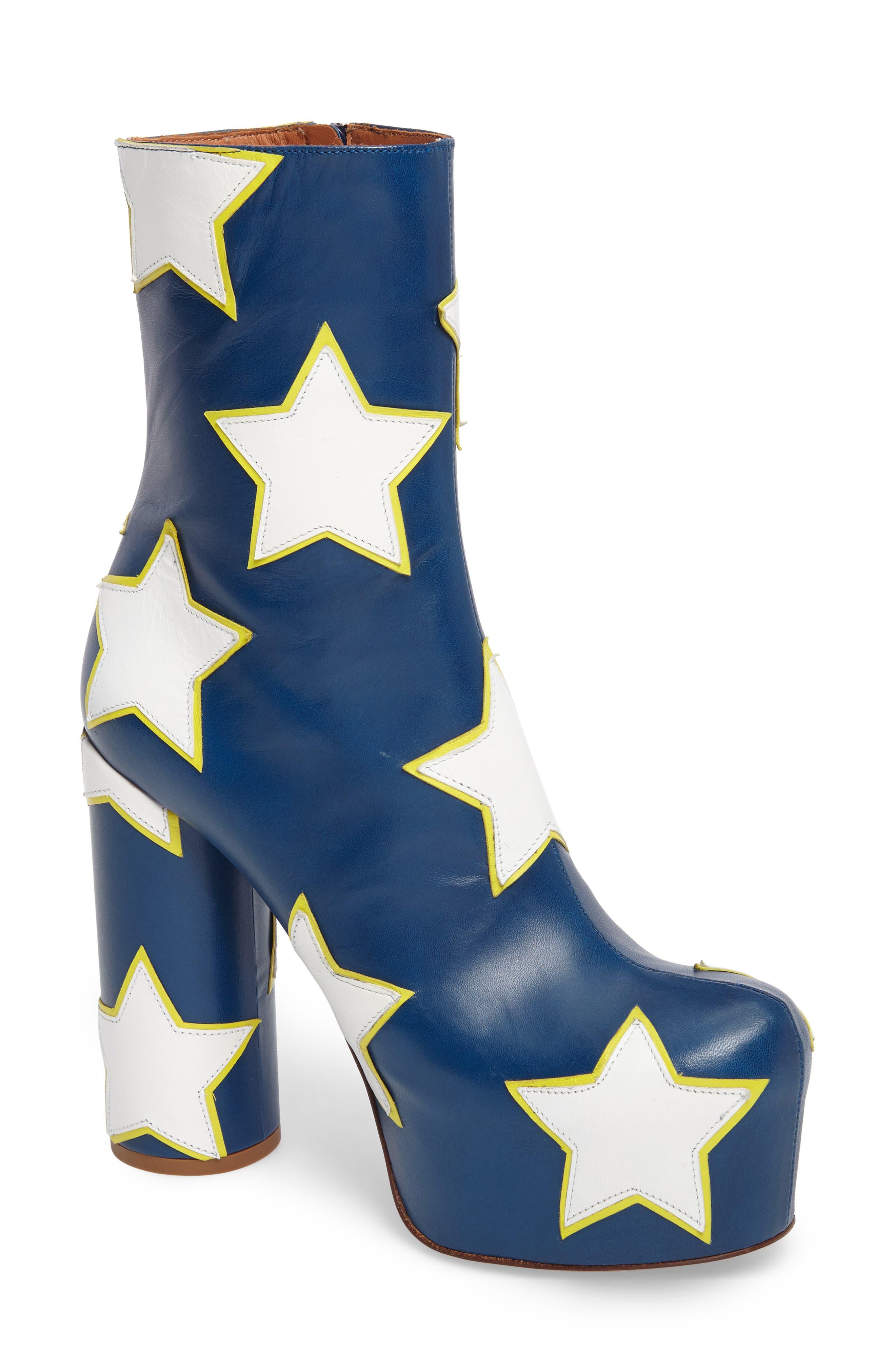 Star Platform Boot,                         Main,                         color, 460