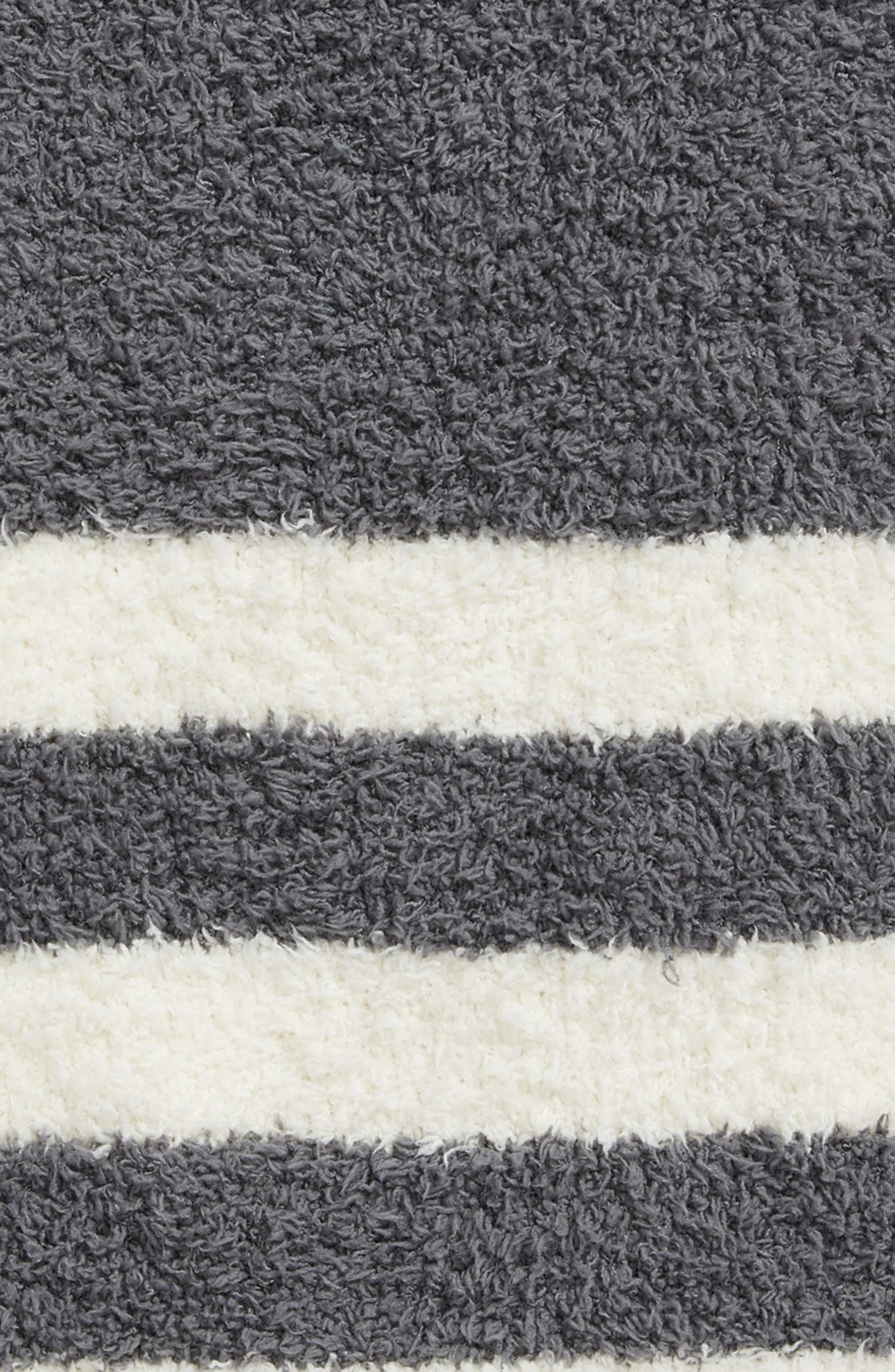 Barefoot Dreams Cozychic<sup>®</sup> Tri Stripe Throw Blanket,                             Alternate thumbnail 7, color,