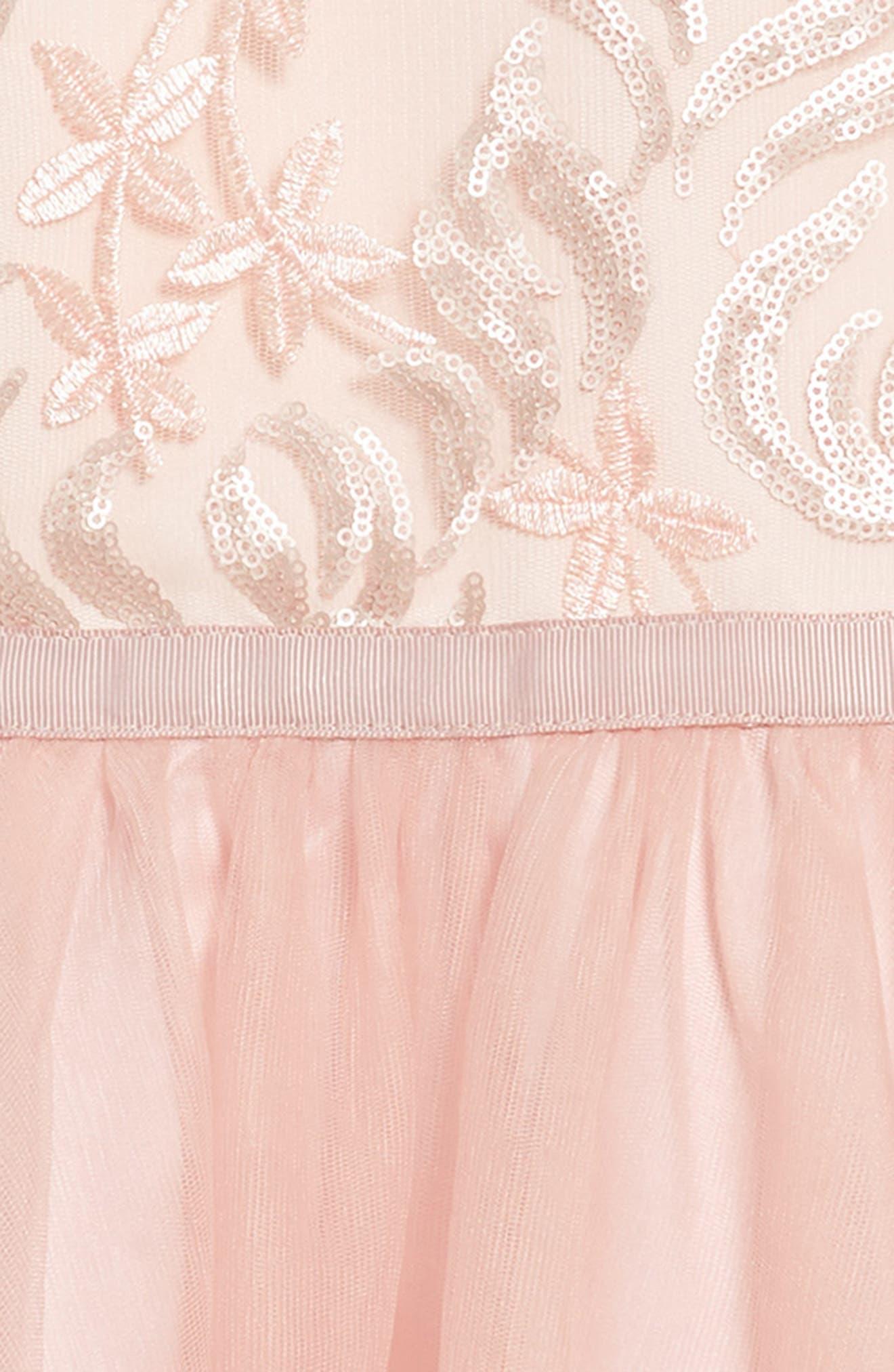 Sequin Tutu Dress,                             Alternate thumbnail 3, color,                             685