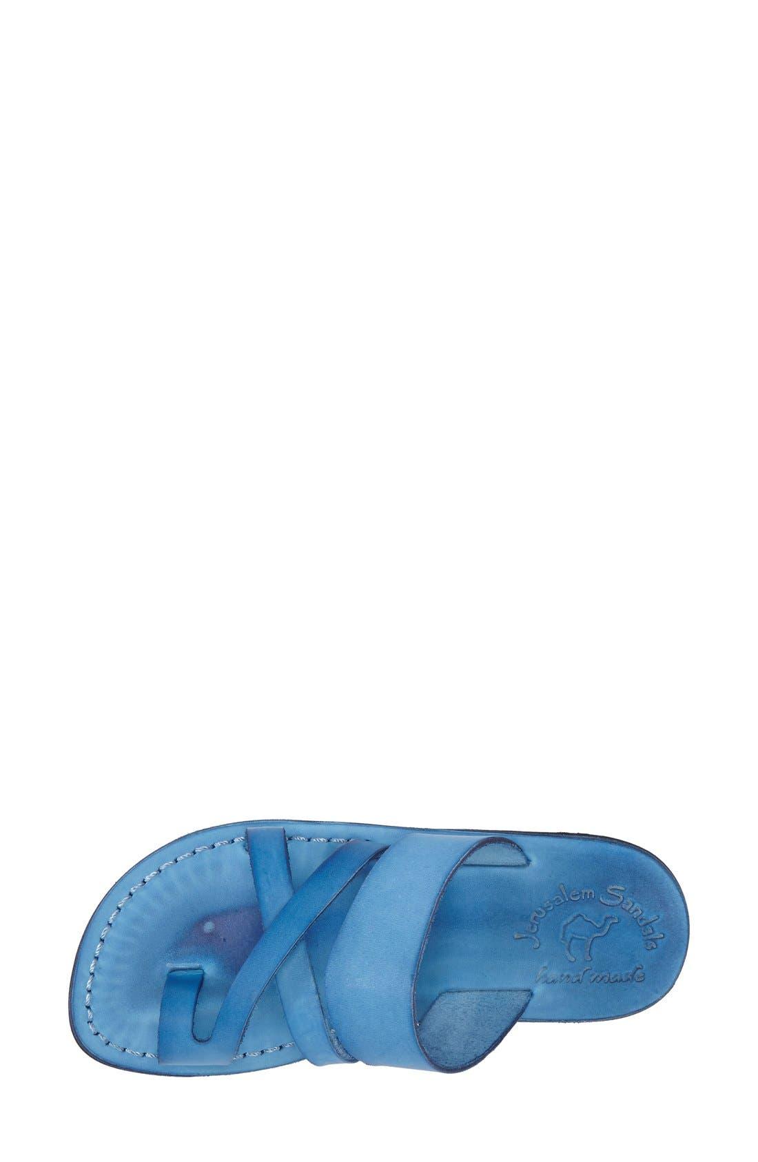 'The Good Shepard' Leather Sandal,                             Alternate thumbnail 14, color,