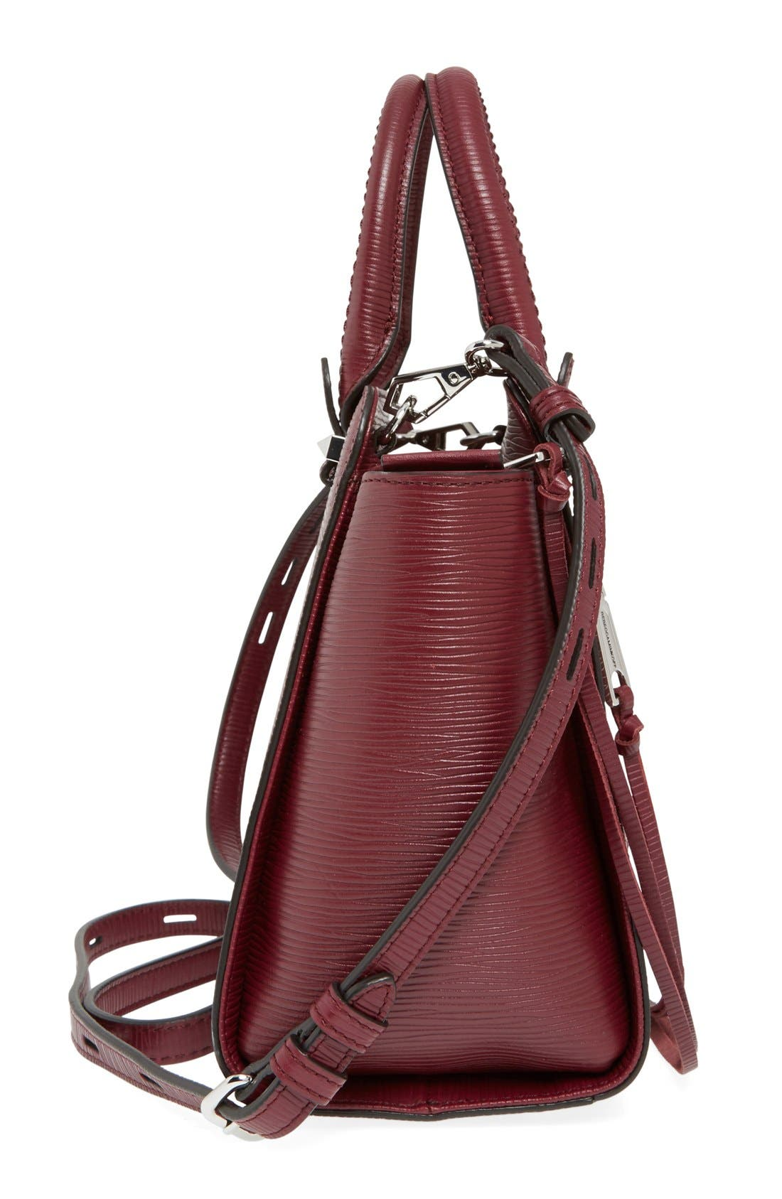 REBECCA MINKOFF,                             'Mini Avery' Tote,                             Alternate thumbnail 3, color,                             930