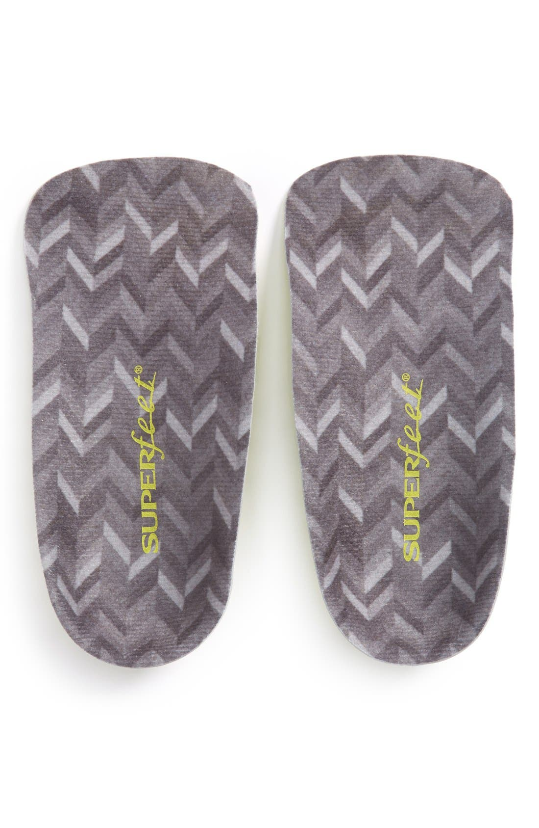 Worldwide Comfort Insoles,                             Main thumbnail 1, color,                             CHARCOAL