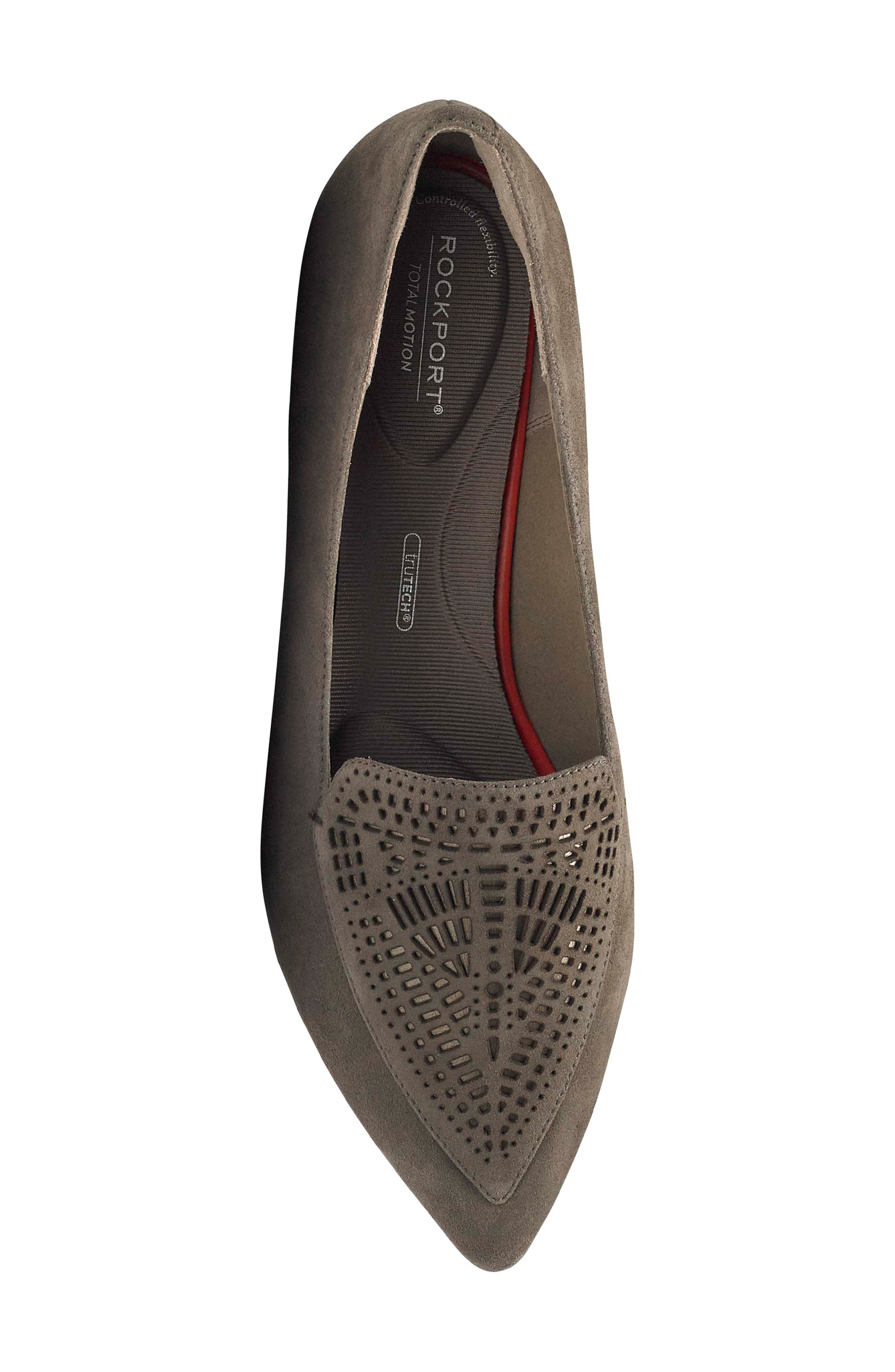Total Motion Adelyn Loafer,                             Alternate thumbnail 5, color,                             WARM IRON
