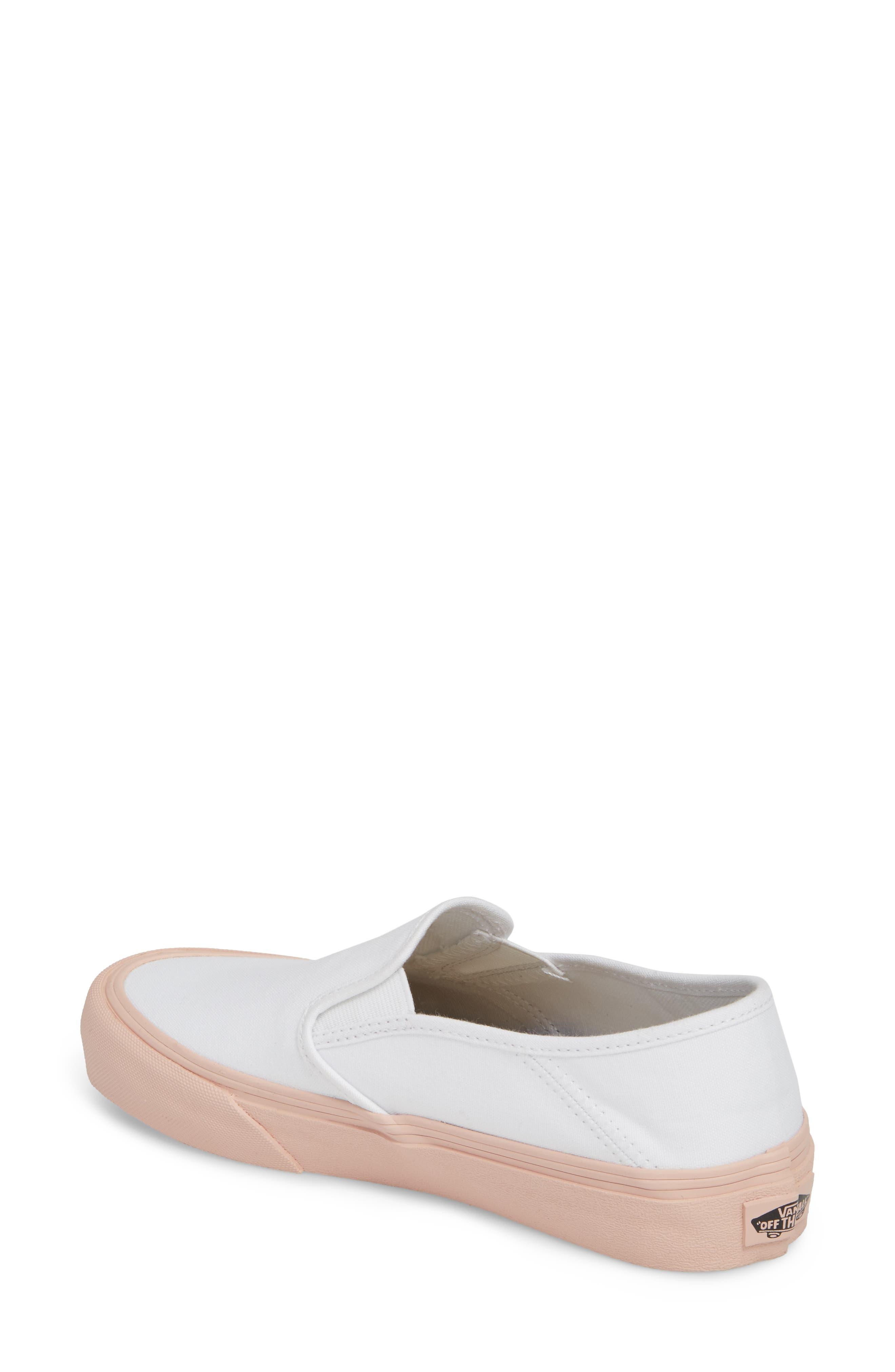 Classic Slip-On Sneaker,                             Alternate thumbnail 105, color,