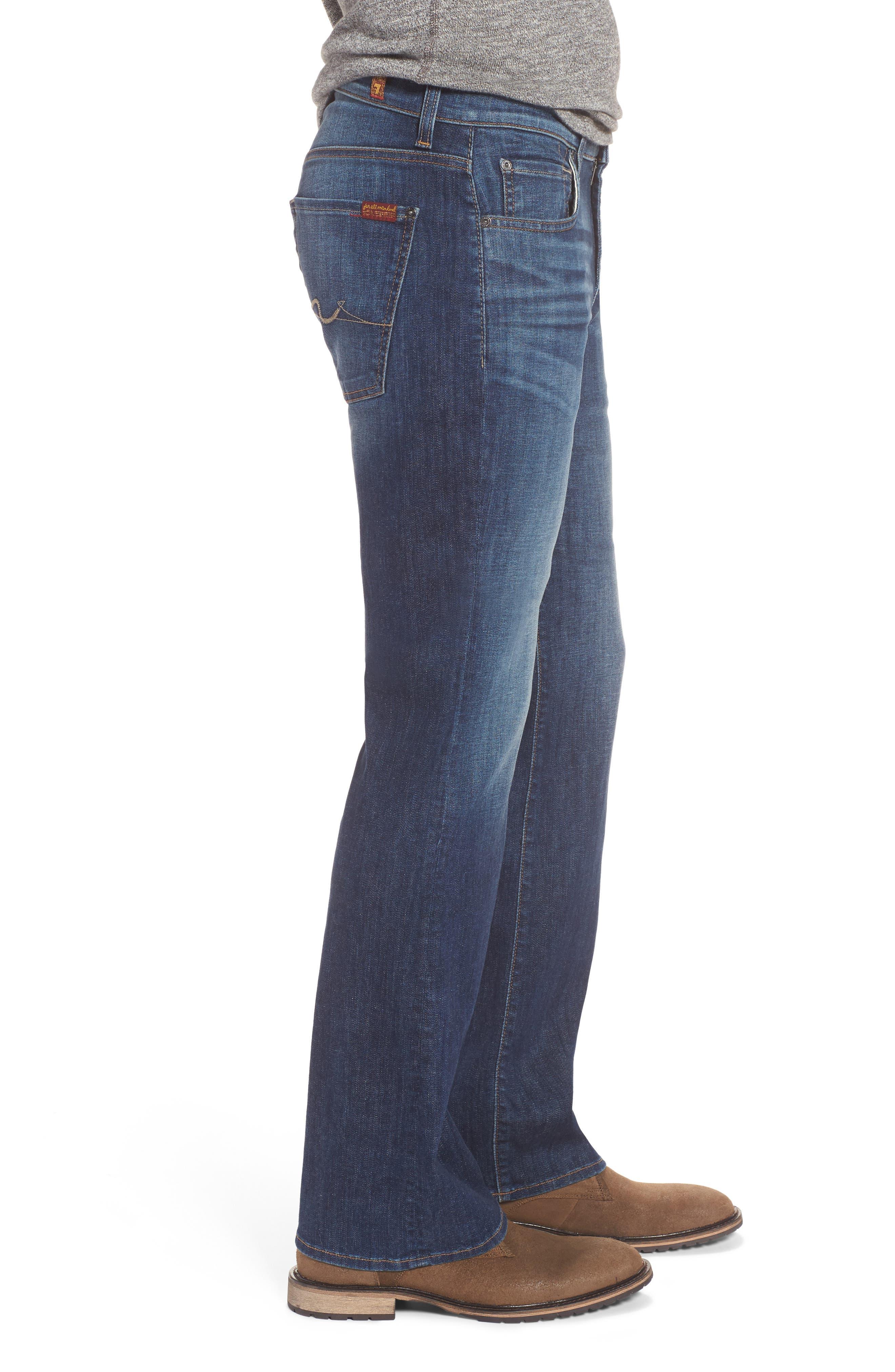 Brett Bootcut Jeans,                             Alternate thumbnail 3, color,                             400