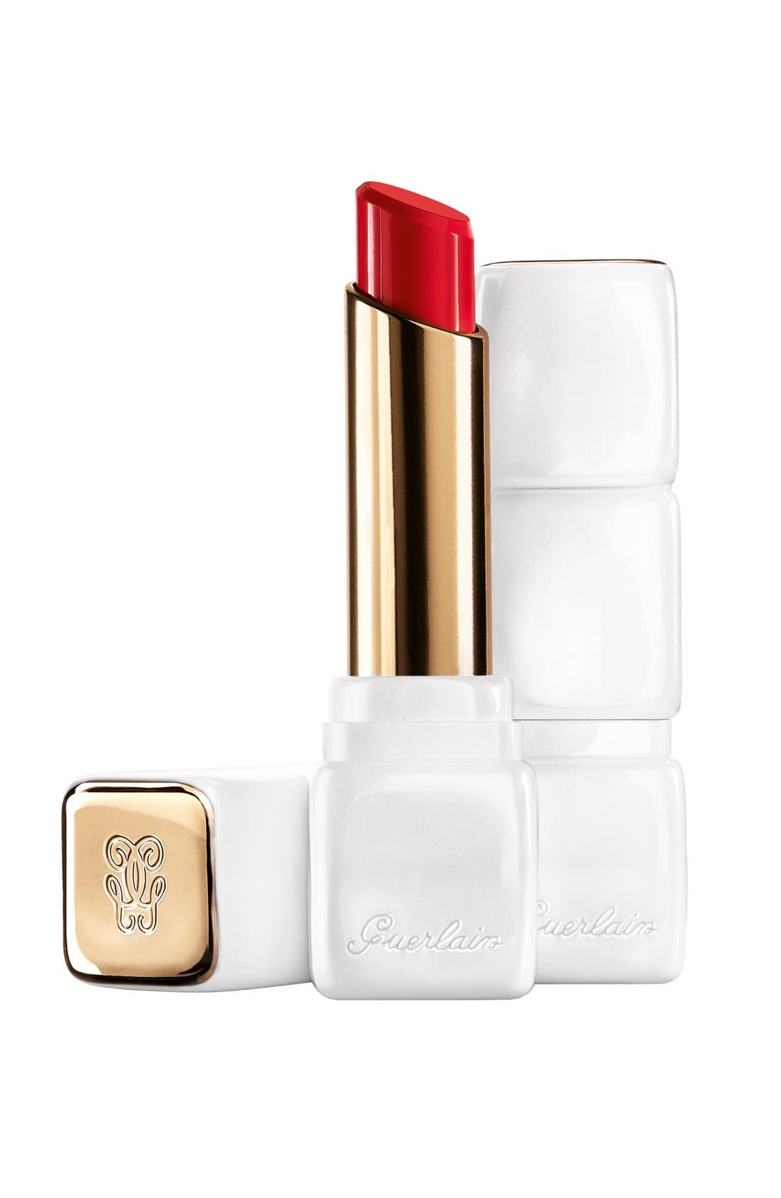Bloom of Rose - KissKiss Roselip Hydrating & Plumping Tinted Lip Balm,                             Main thumbnail 1, color,                             R329 CRAZY BOUQUET