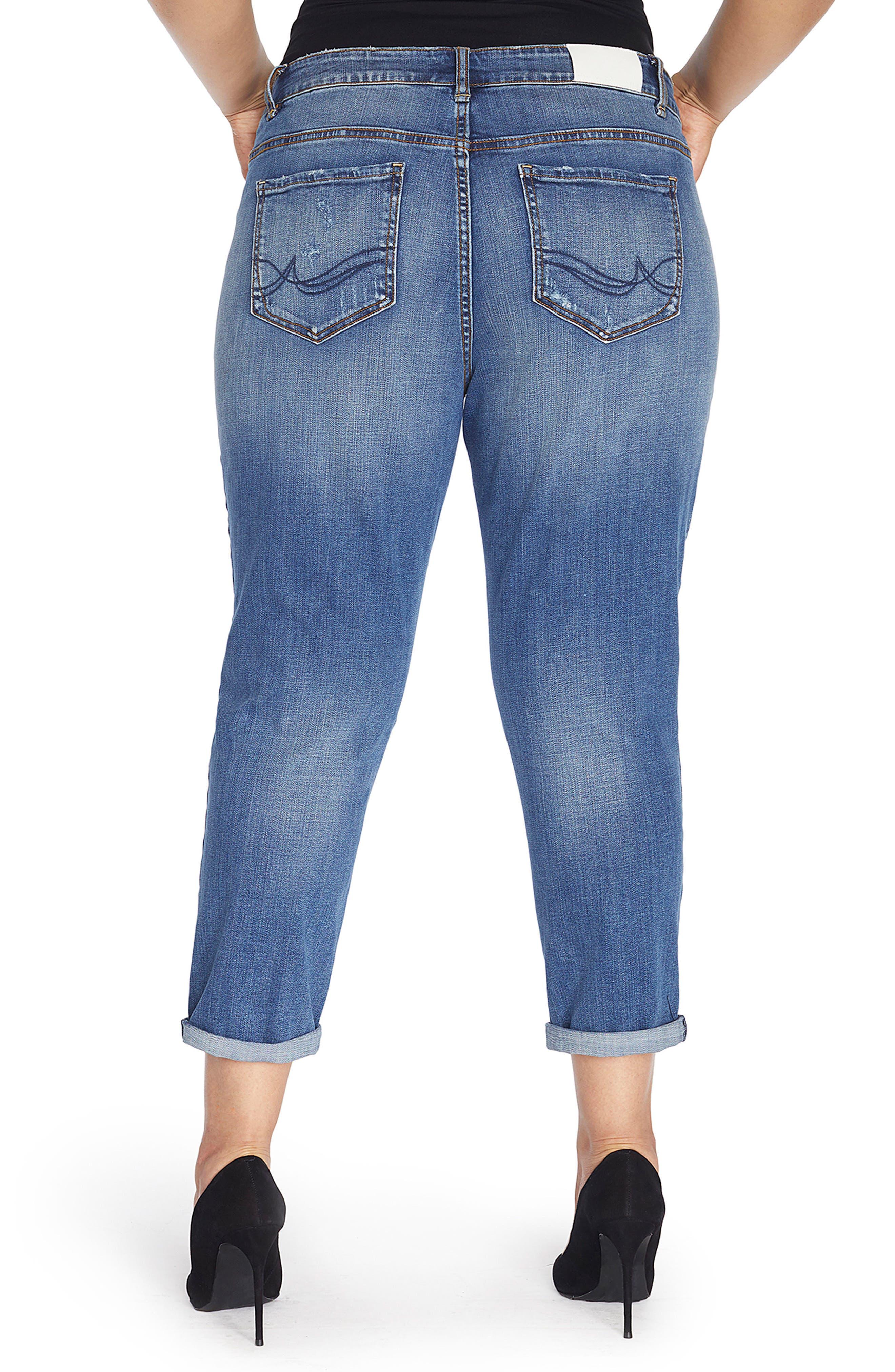 The Ryot Slim Boyfriend Jeans,                             Alternate thumbnail 5, color,