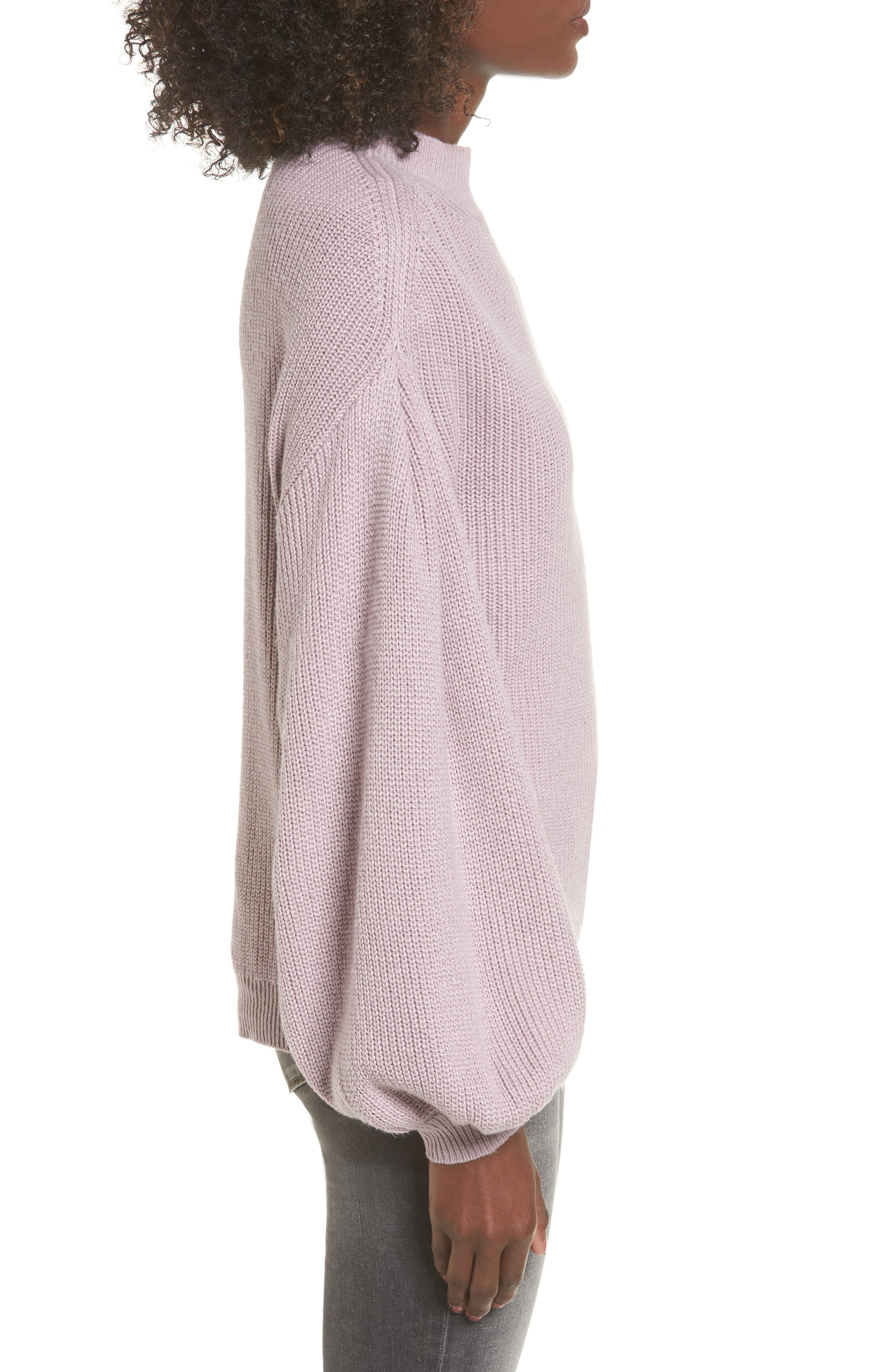 Blouson Sleeve Sweater,                             Alternate thumbnail 14, color,