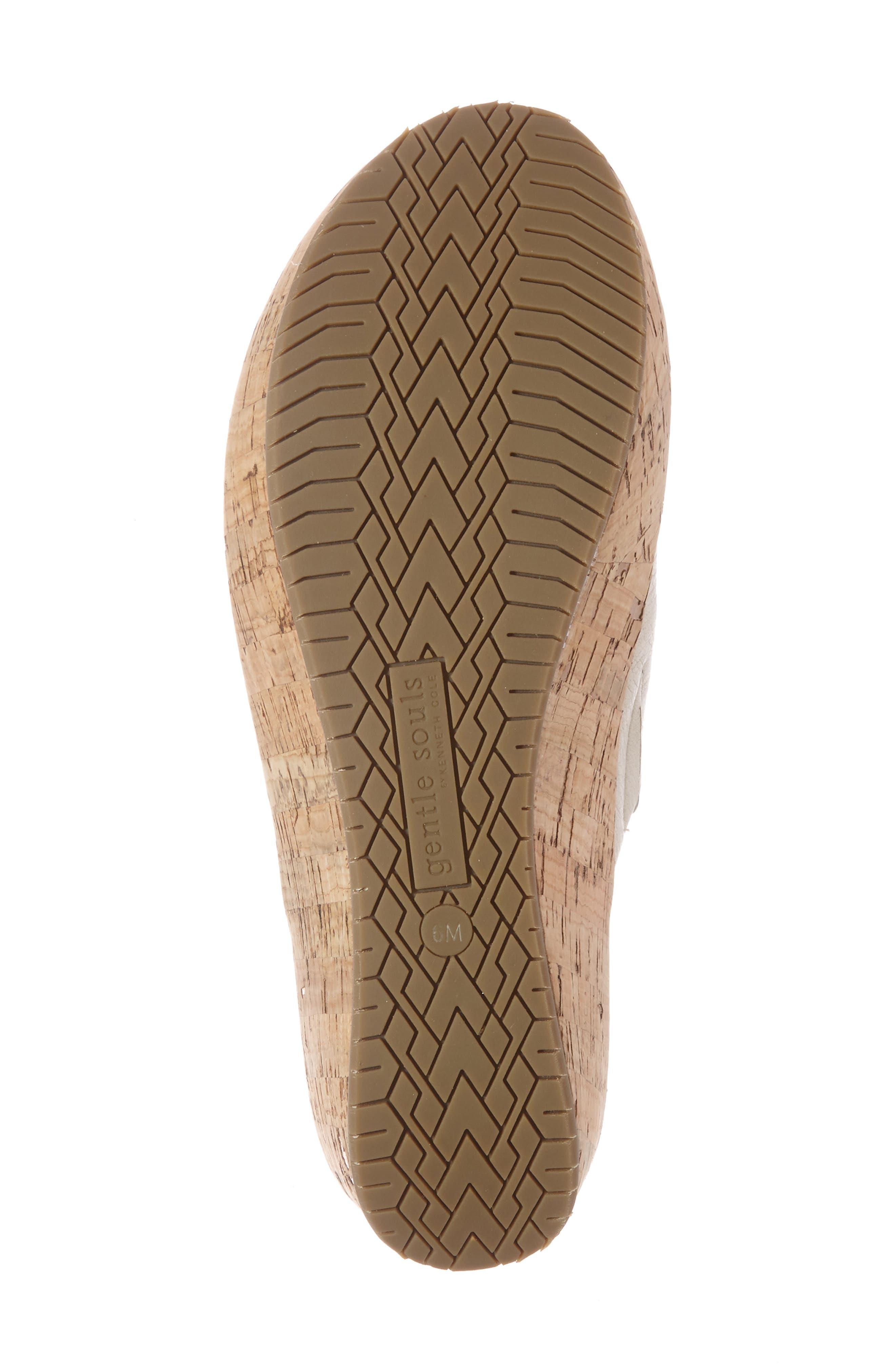 'Megan' Platform Wedge Sandal,                             Alternate thumbnail 5, color,                             053