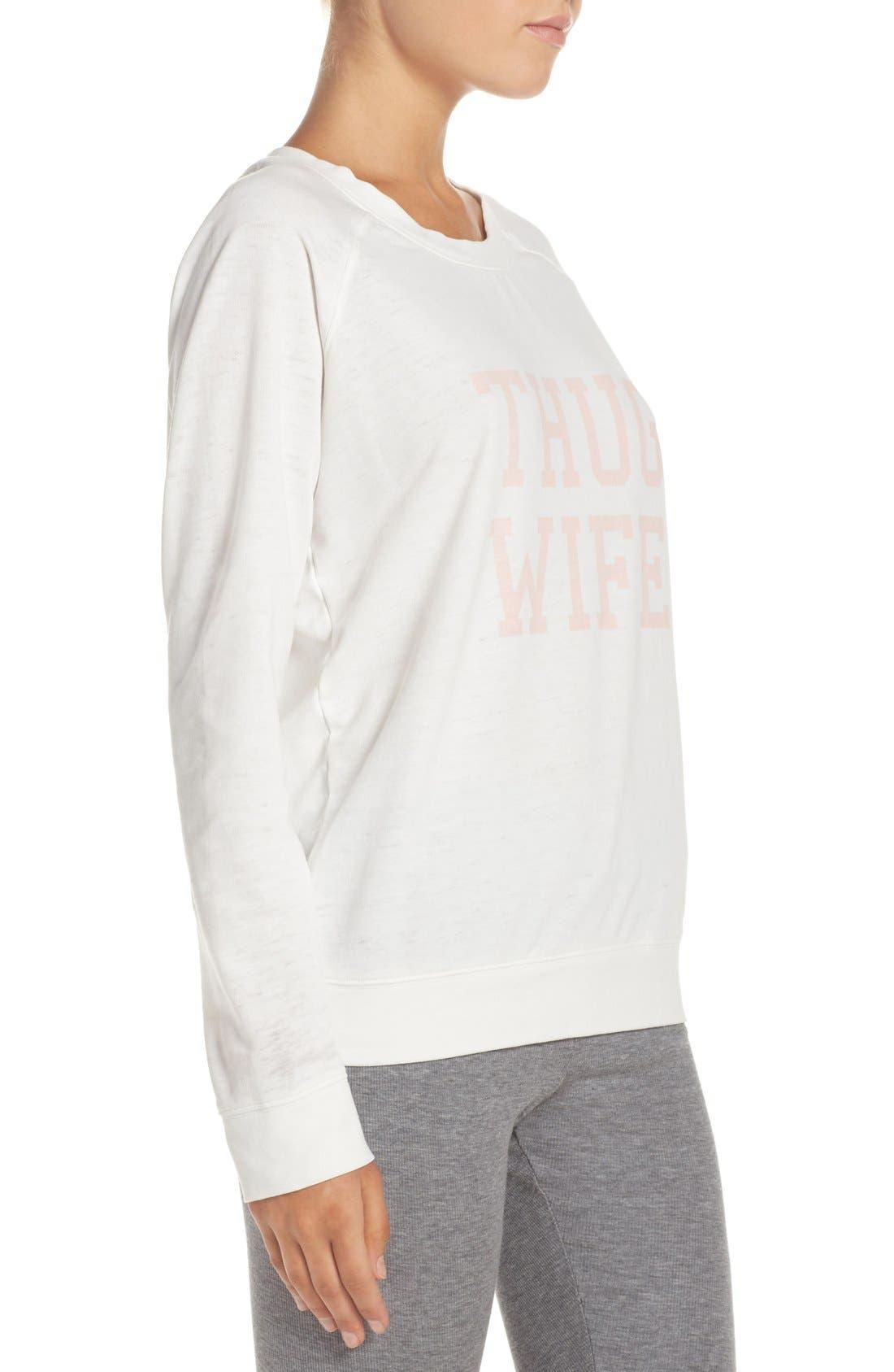 Burnout Lounge Sweatshirt,                             Alternate thumbnail 149, color,