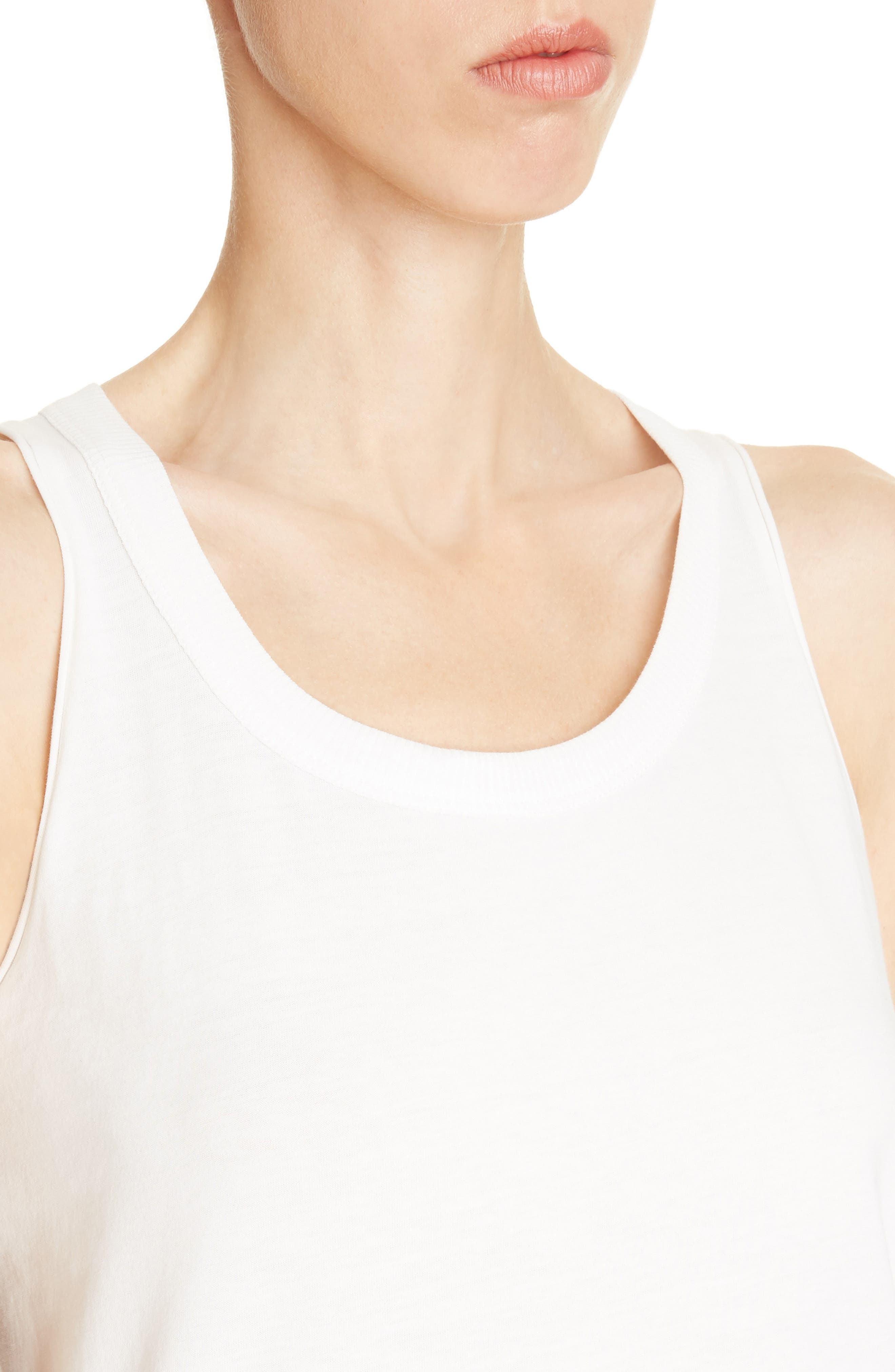 Jersey Tank Top,                             Alternate thumbnail 4, color,                             110